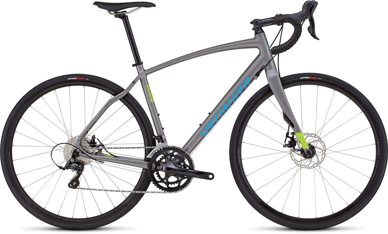 SPECIALIZED DIVERGE SPORT A1 CEN STRL/HYP/CYAN 54 - Alpha Bikes