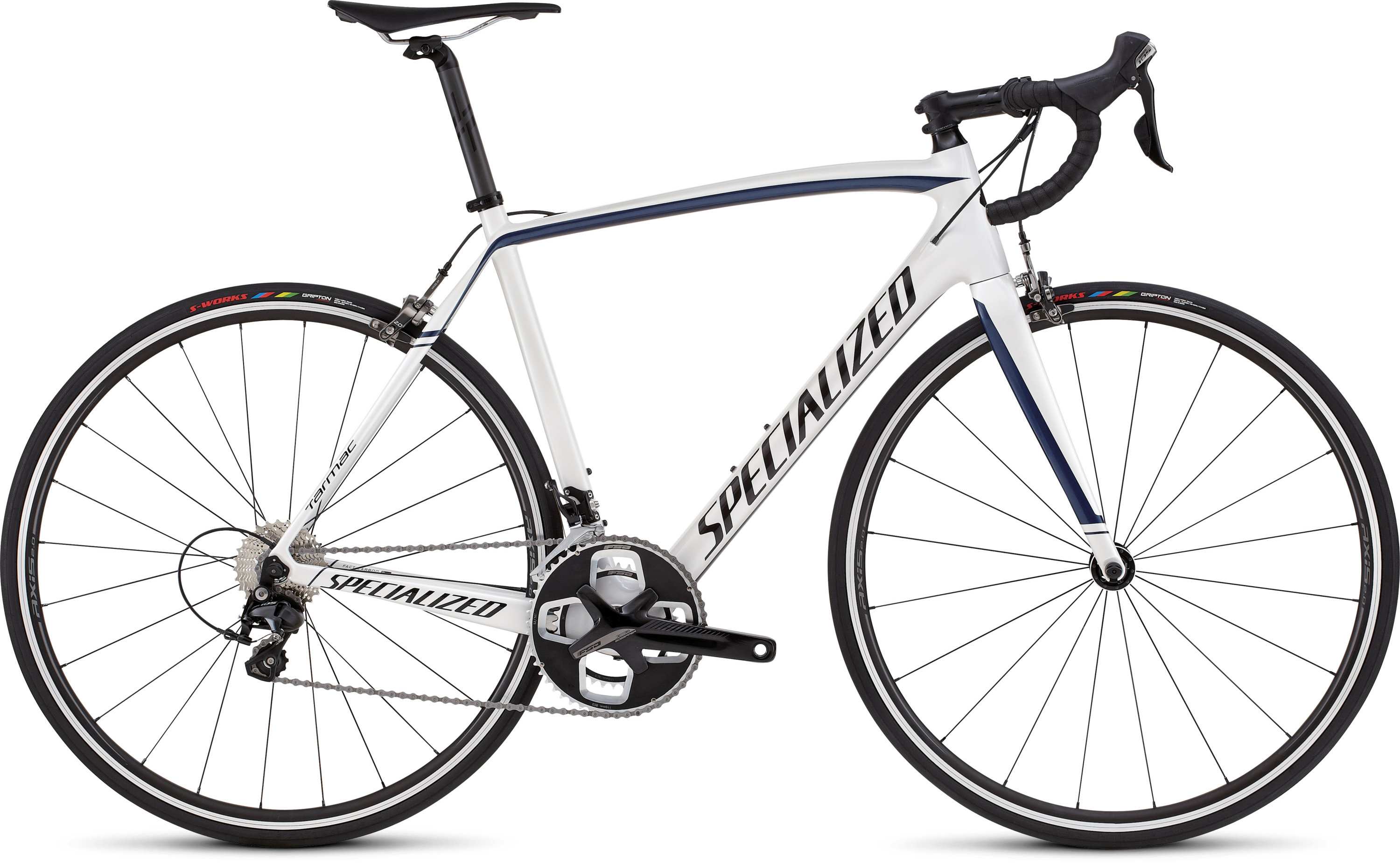 SPECIALIZED TARMAC SPORT WHT/NVY/BLK 49 - Bikedreams & Dustbikes