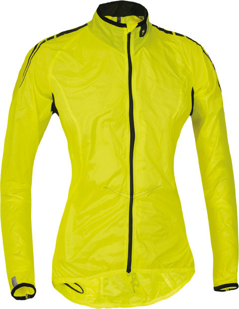 Specialized Deflect Comp Women´s Wind jacket Yellow Fluo S - Alpha Bikes