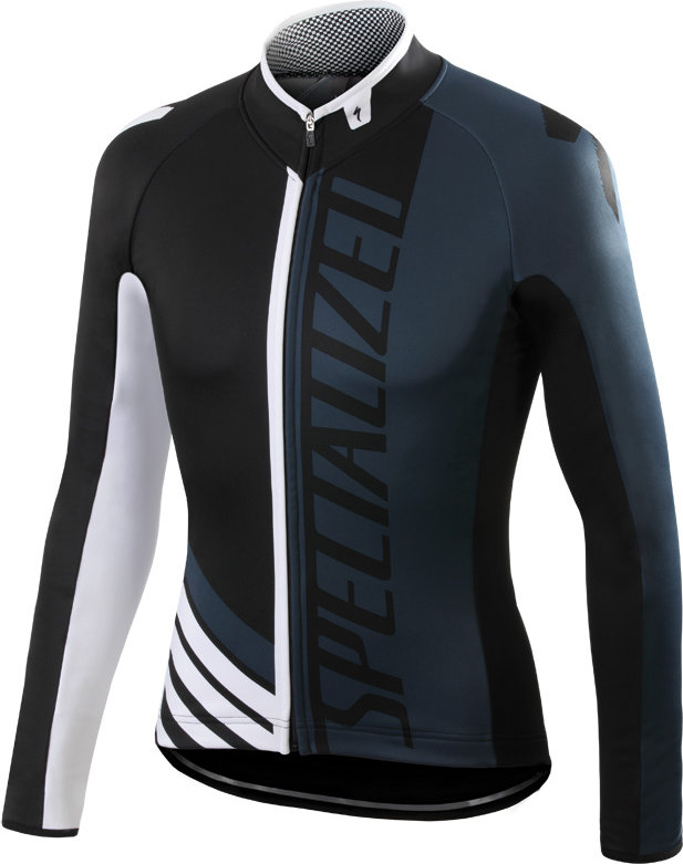 Specialized Element Pro Racing jersey LS BLACK/ANTHRACITE/WHITE M - Alpha Bikes