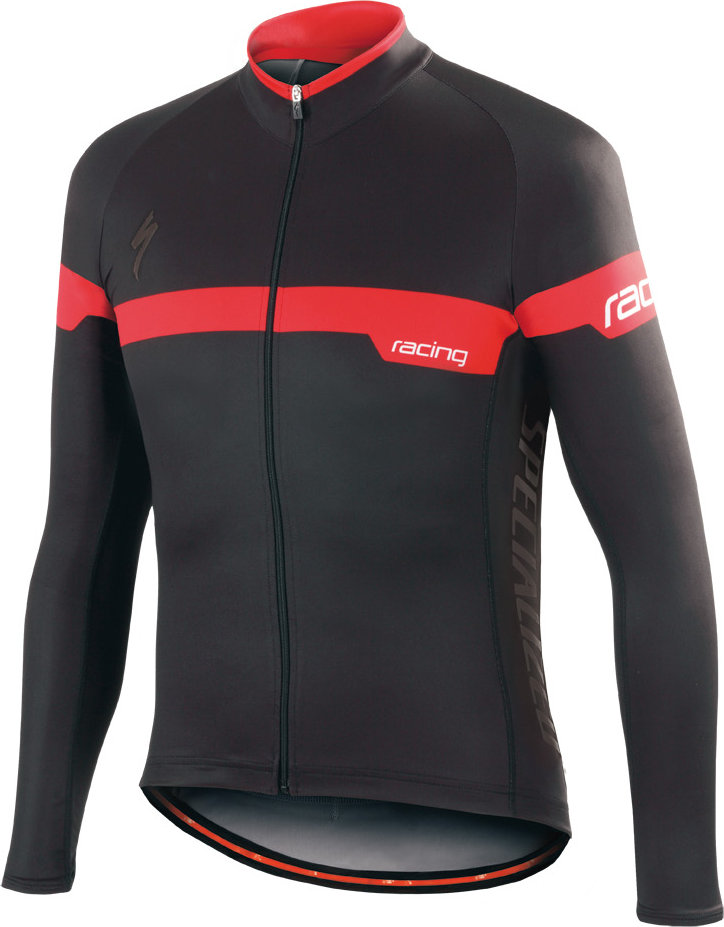 Specialized Element Team Expert LS jersey BLACK/RED S - Alpha Bikes