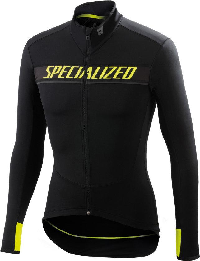 Specialized Element SL Race jersey LS BLK/YEL FLUO XXL - Alpha Bikes