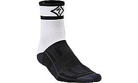 RBX EXPERT SOCKS WMN BLACK/WHITE