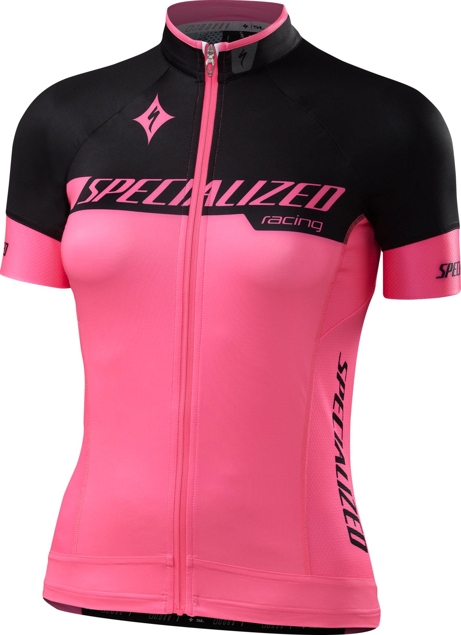 Specialized WOMEN´S SL PRO JERSEY  Team Neon Pink/Black Large - Alpha Bikes