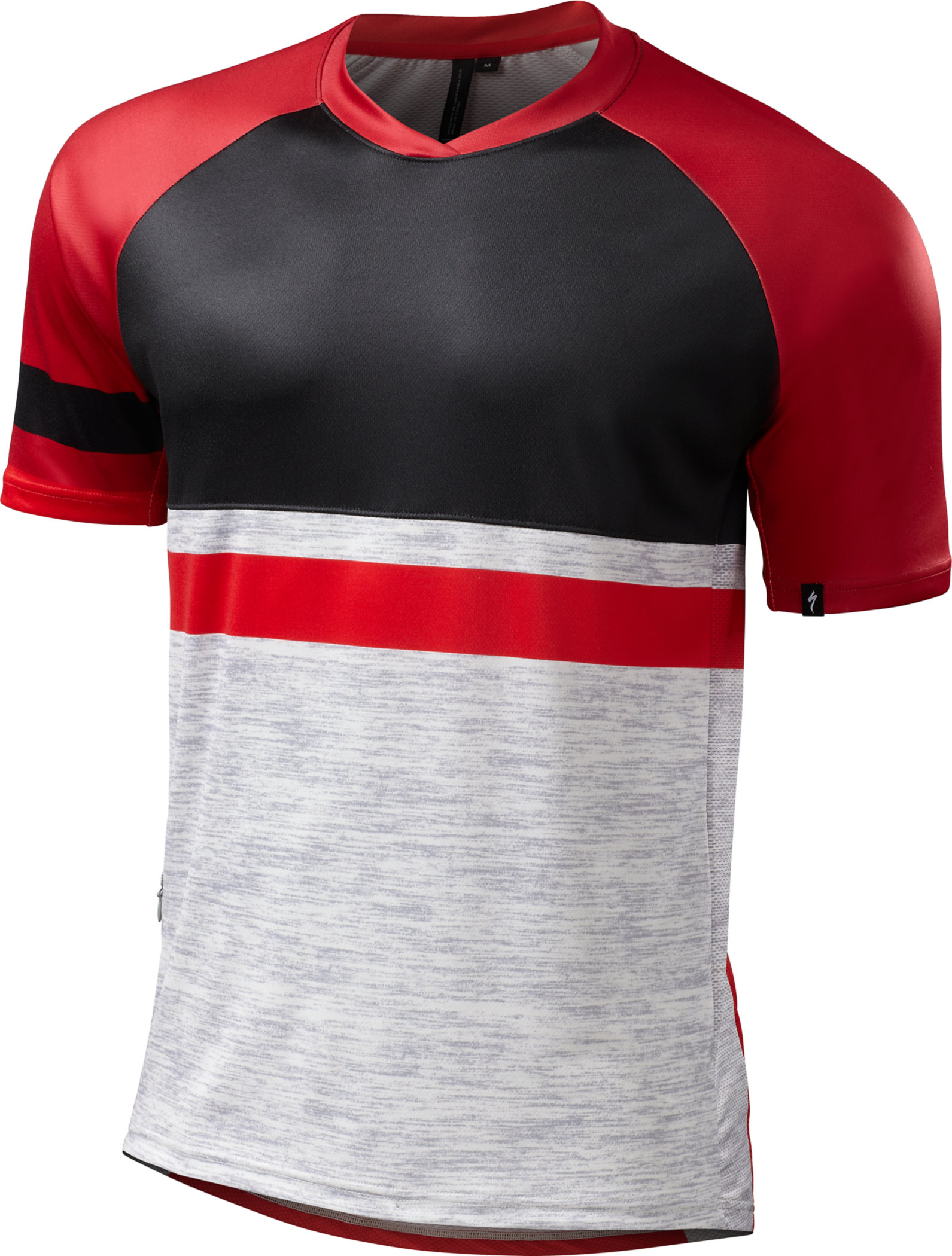 Specialized ENDURO COMP JERSEY  Grey/Red XX-Large - Alpha Bikes