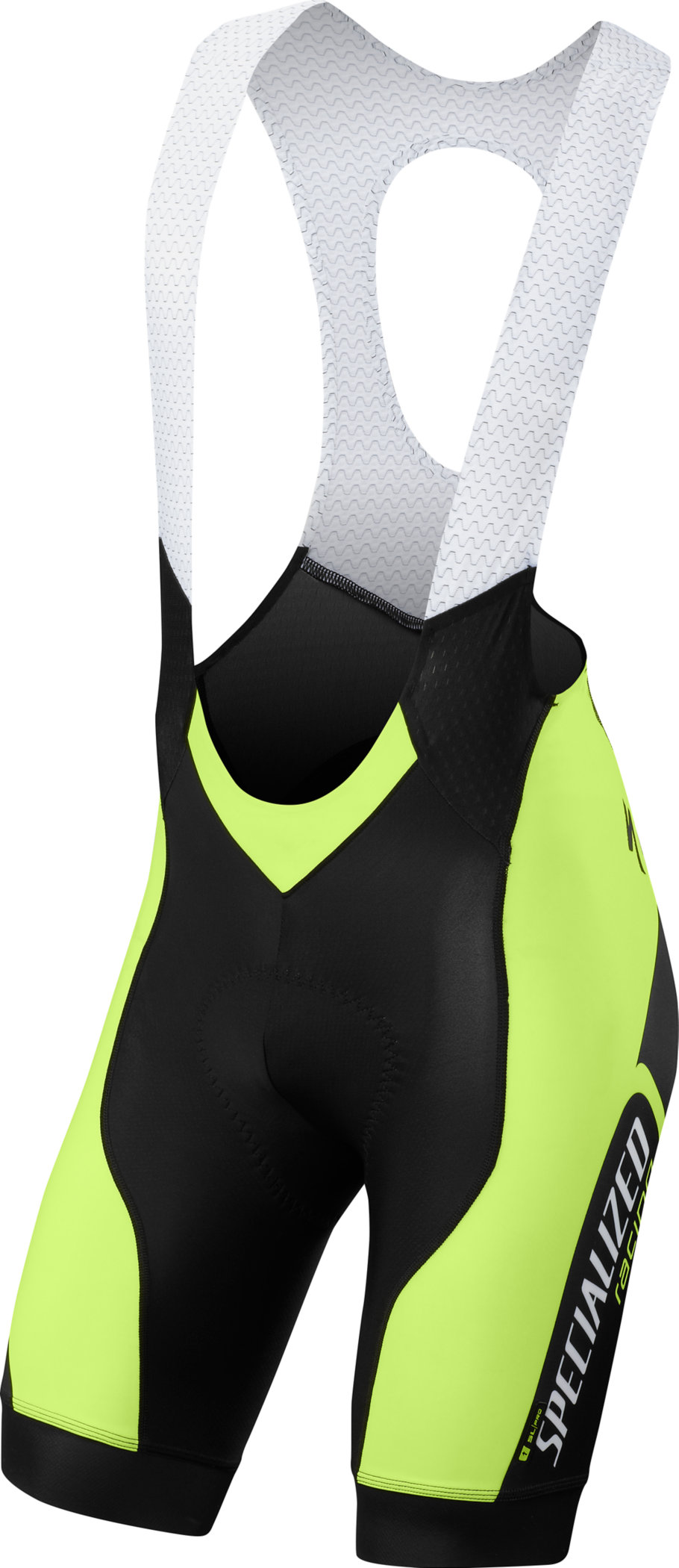 SPECIALIZED SL PRO BIB SHORT NEON YEL TEAM L - Alpha Bikes