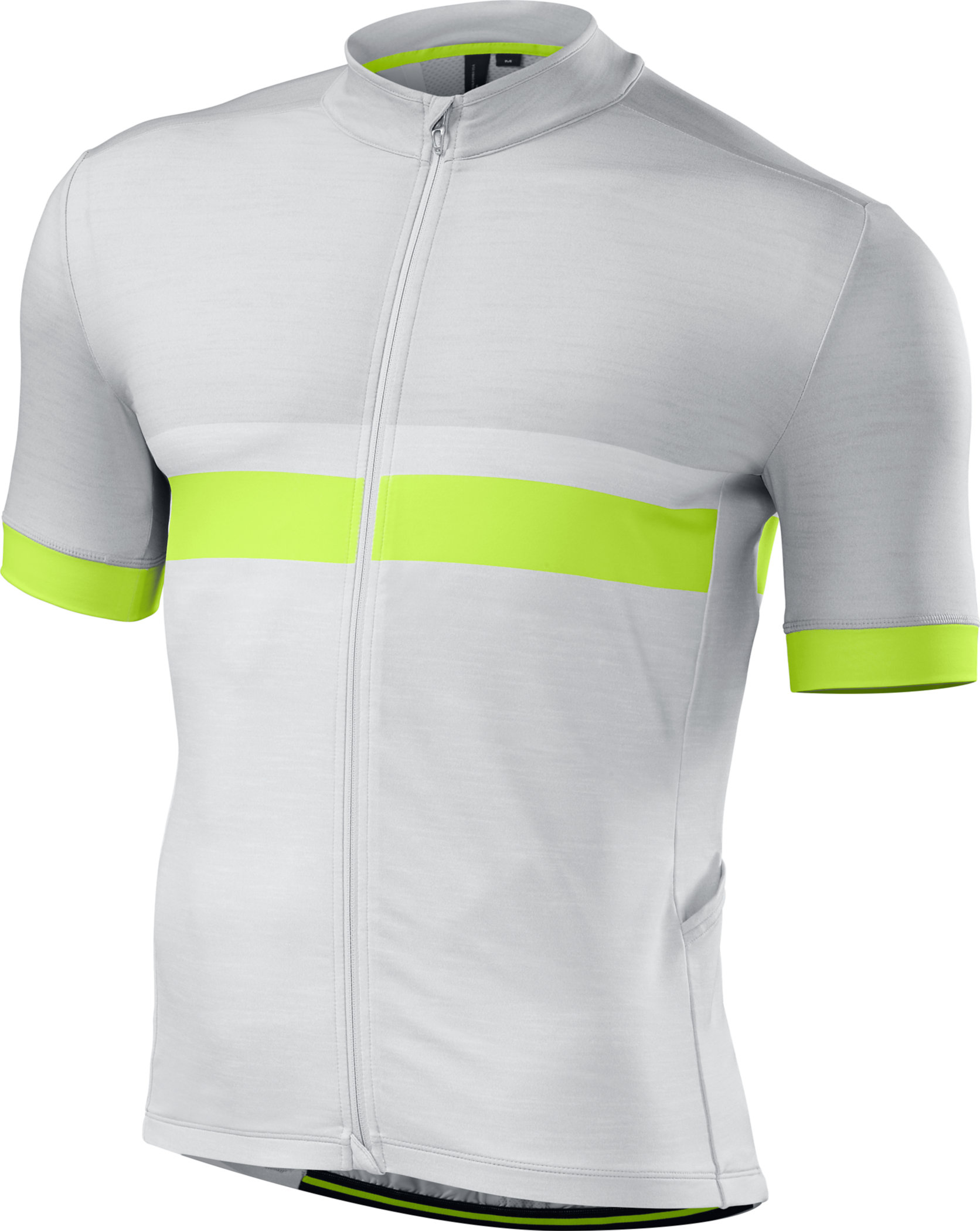 Specialized RBX Pro Jersey Light Grey/Neon Yellow Large - Alpha Bikes