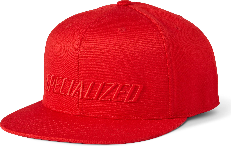 Specialized Podium Hat - Premium Fit Red/Red Small/Medium - Alpha Bikes