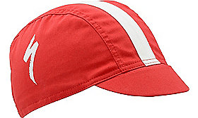 PODIUM HAT CYCLING FIT RED OSFA
