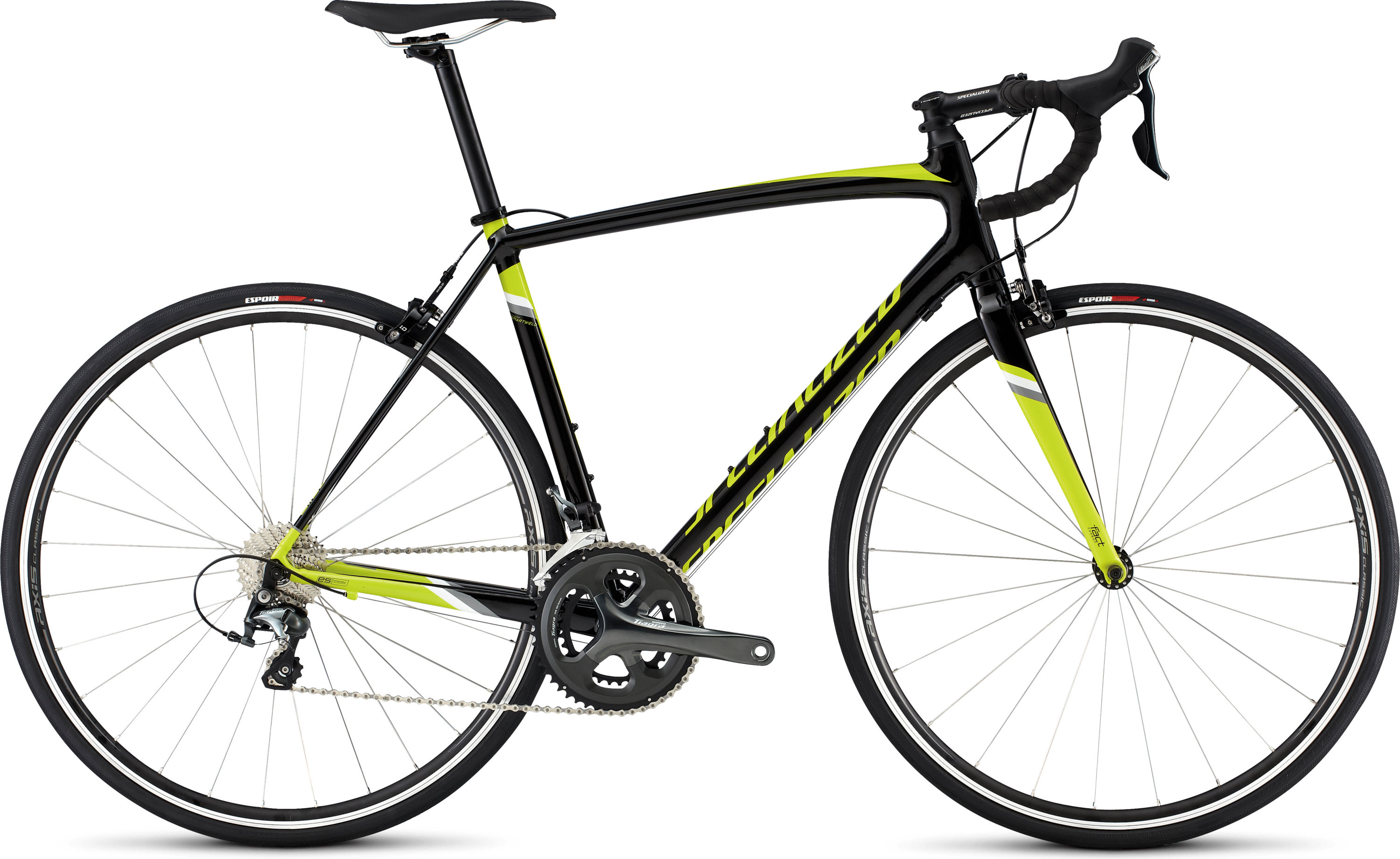 SPECIALIZED ALLEZ ELITE DSW TARBLK/TEAMYEL/WHT 49 - schneider-sports