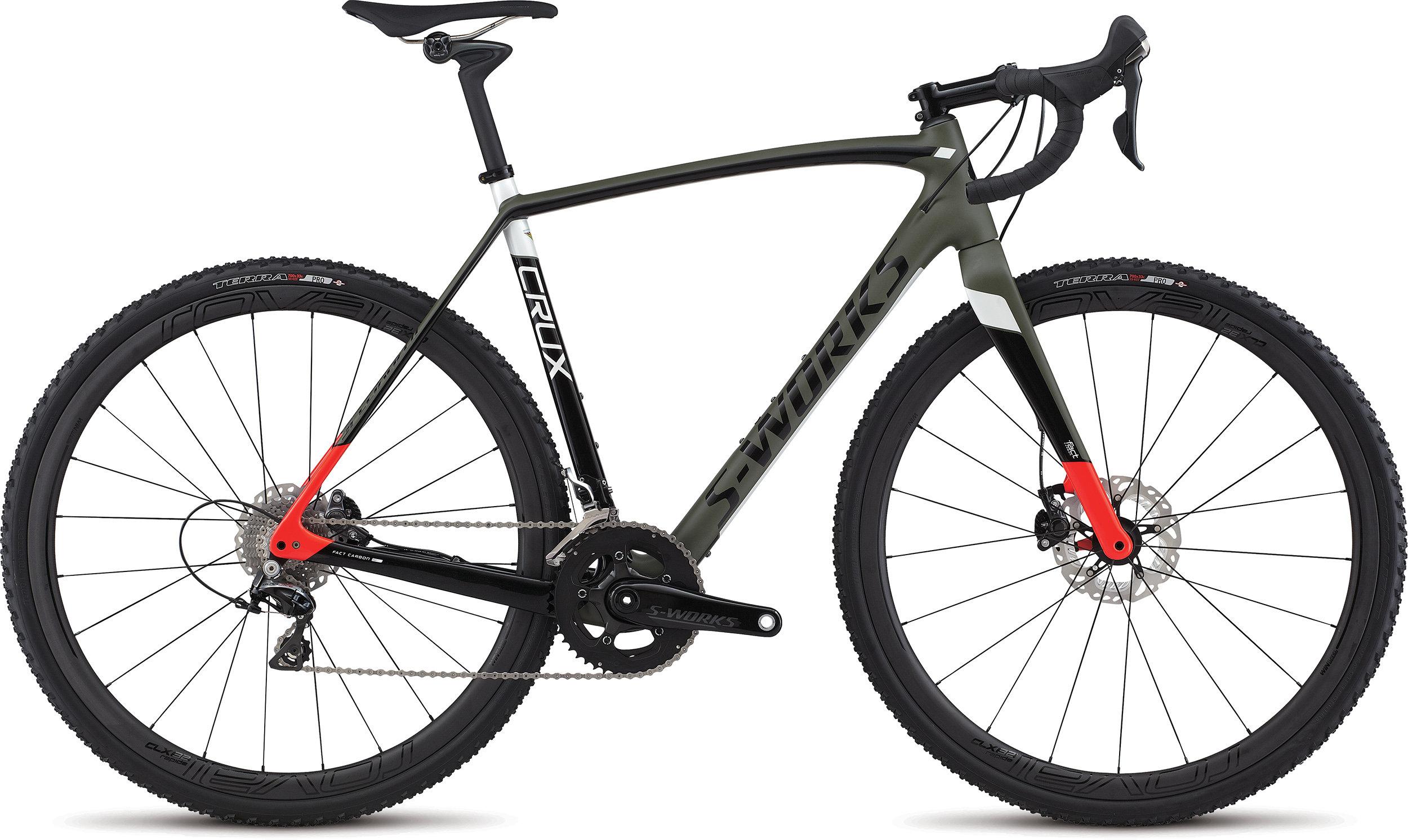 SPECIALIZED SW CRUX OAKGRN/TARBLK/RKTRED 46 - Alpha Bikes