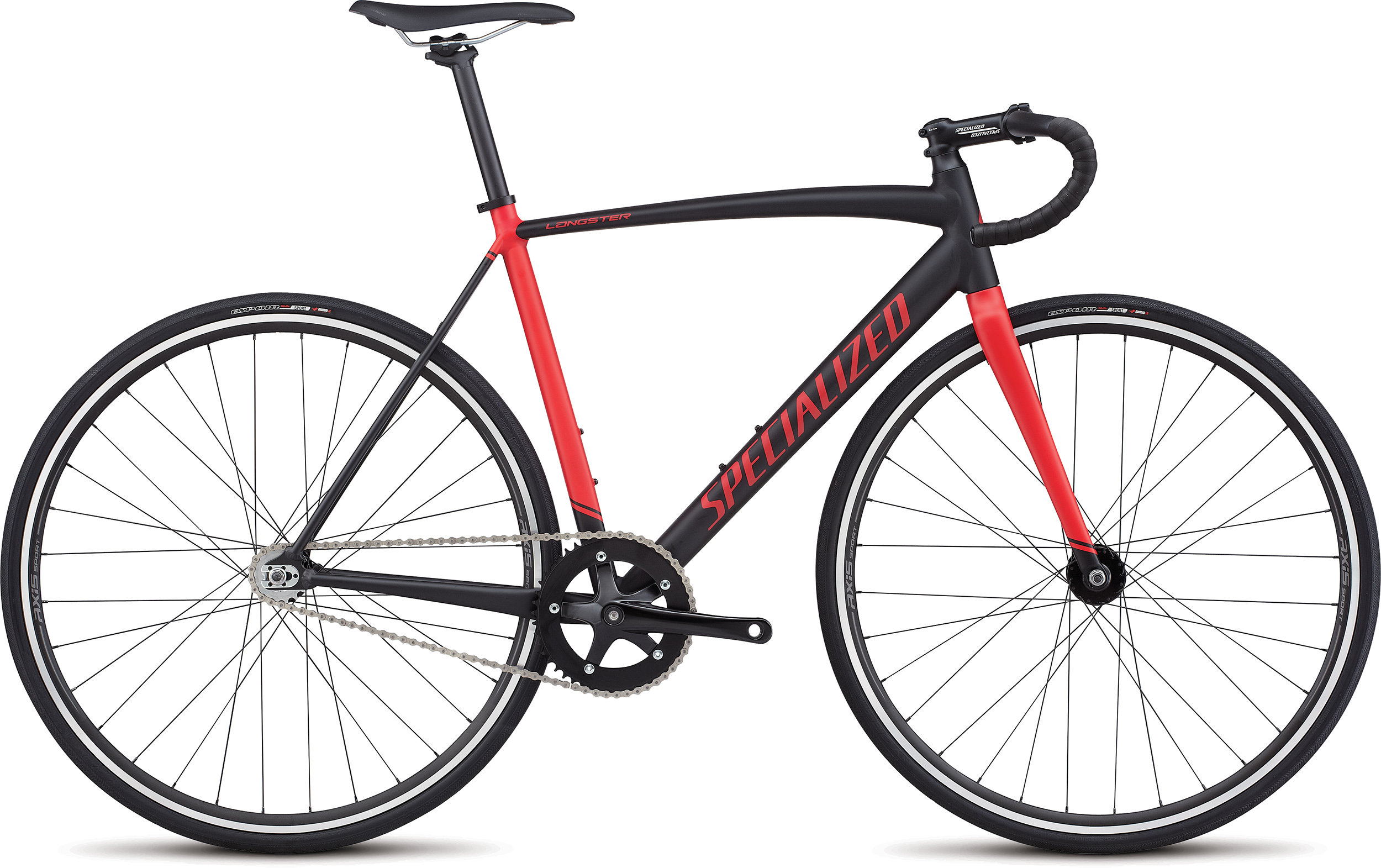 SPECIALIZED LANGSTER BLK/FLORED 46 - Bike Maniac
