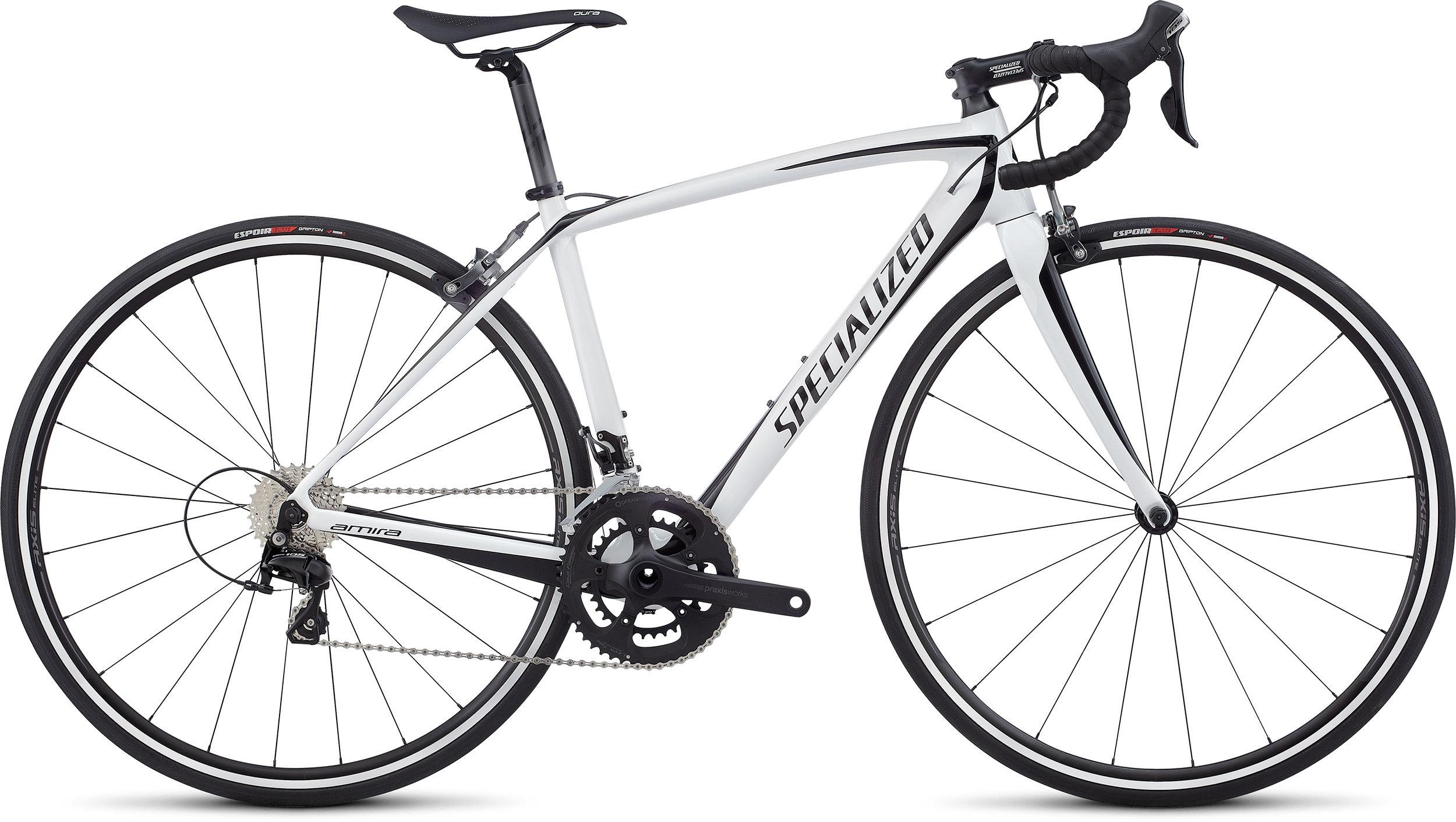 Specialized Amira SL4 Sport WHITE/TARMAC BLACK 44 - Bike Maniac