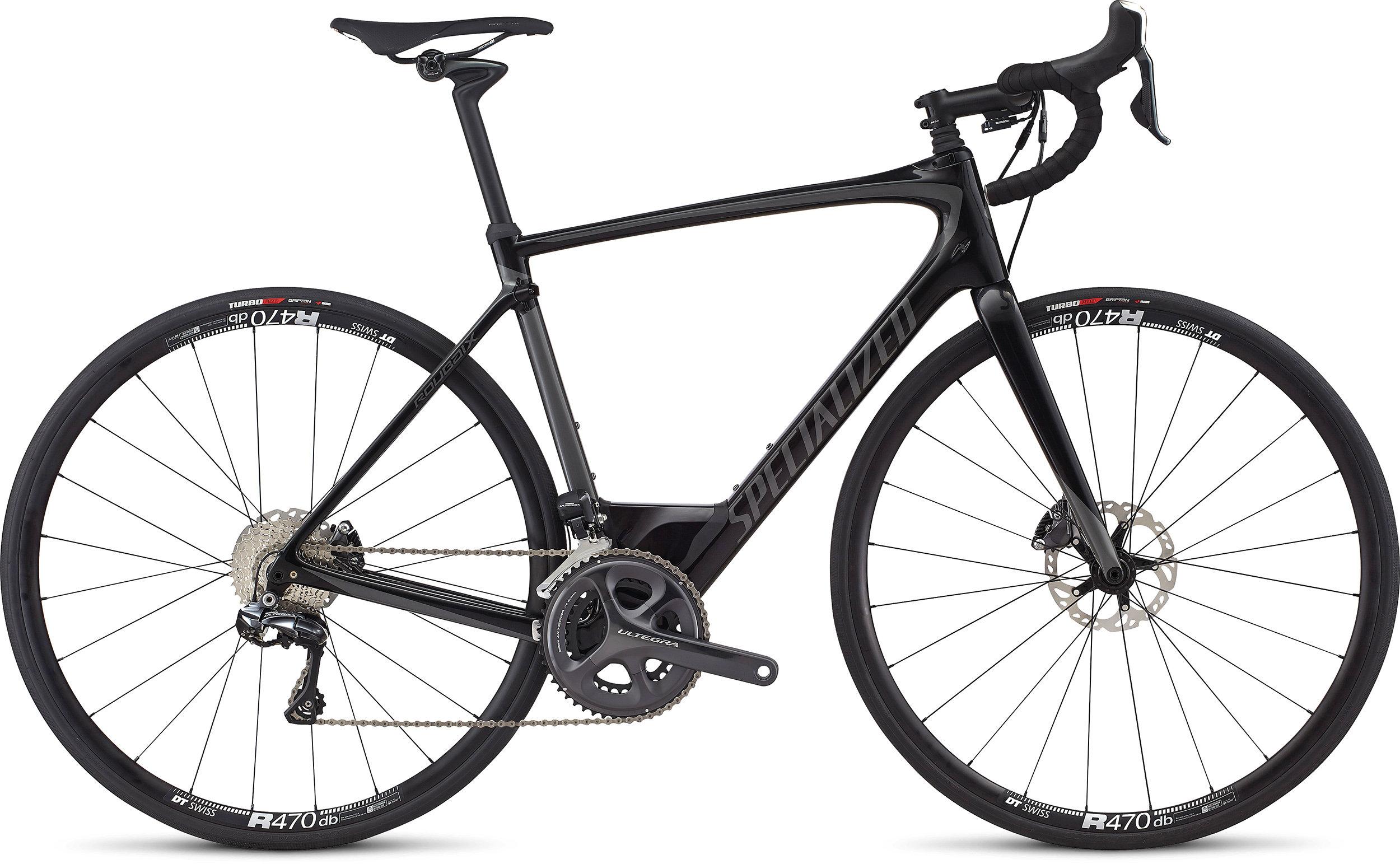 SPECIALIZED ROUBAIX EXPERT UDI2 TARBLK/CHAR 49 - Bike Maniac