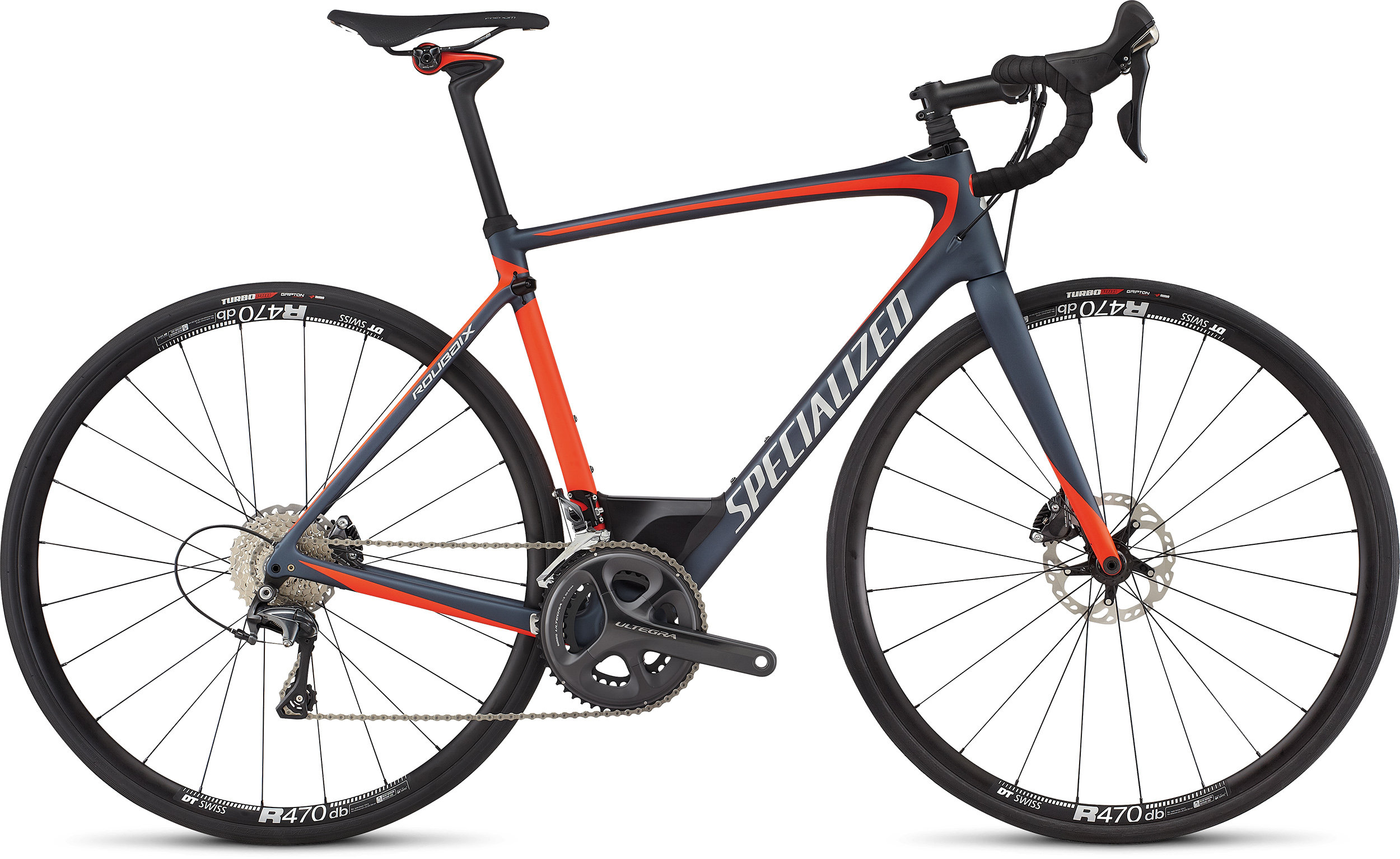 SPECIALIZED ROUBAIX EXPERT INK/RKTRED/SIL 49 - Bike Zone