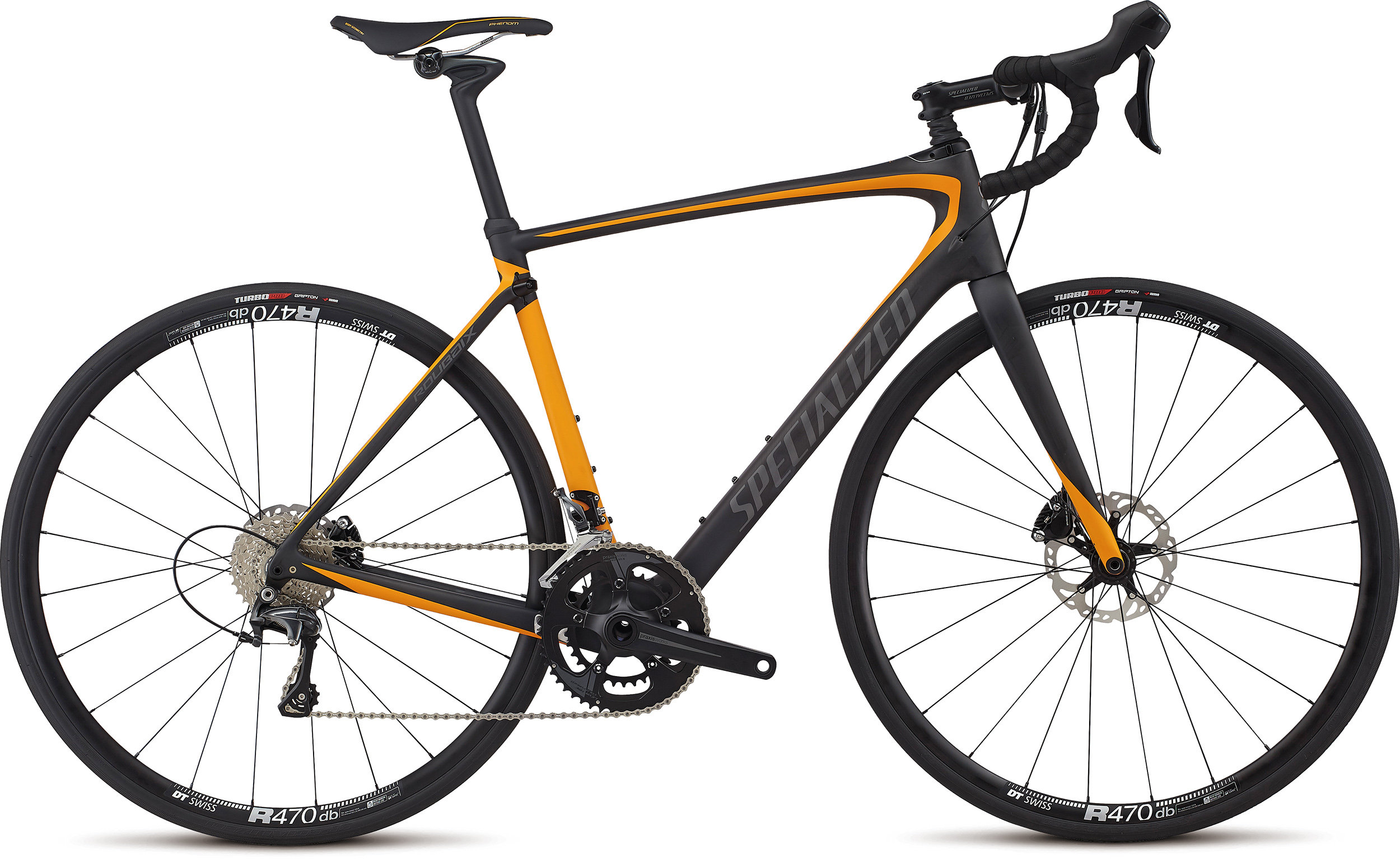 Specialized Roubaix Comp SATIN CARBON / GALLARDO ORANGE / CHARCOAL 56 - Alpha Bikes