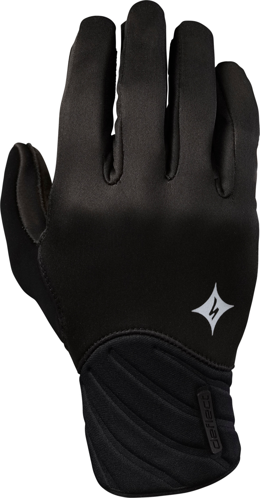 SPECIALIZED DEFLECT GLOVE LF WMN BLK M - Alpha Bikes