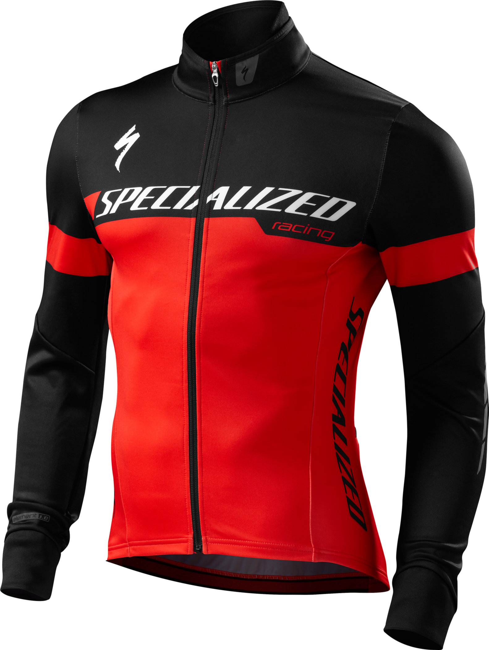 SPECIALIZED ELEMENT 1.0 JACKET RED/BLK TEAM S - Alpha Bikes