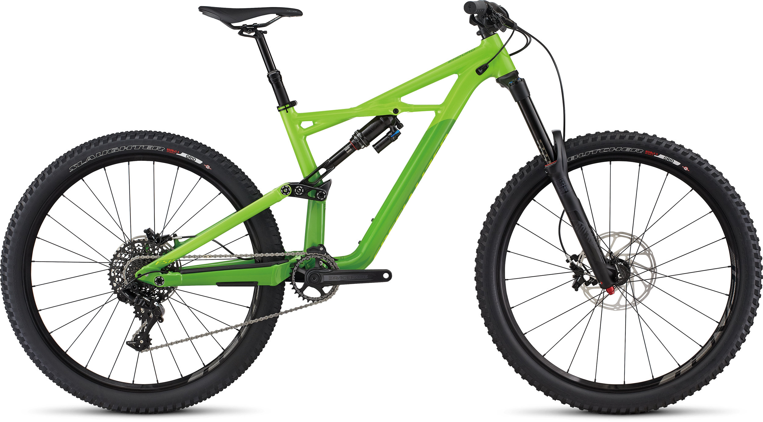 SPECIALIZED ENDURO FSR COMP 650B MXGRN/MONGRN/HYP L - Bike Zone