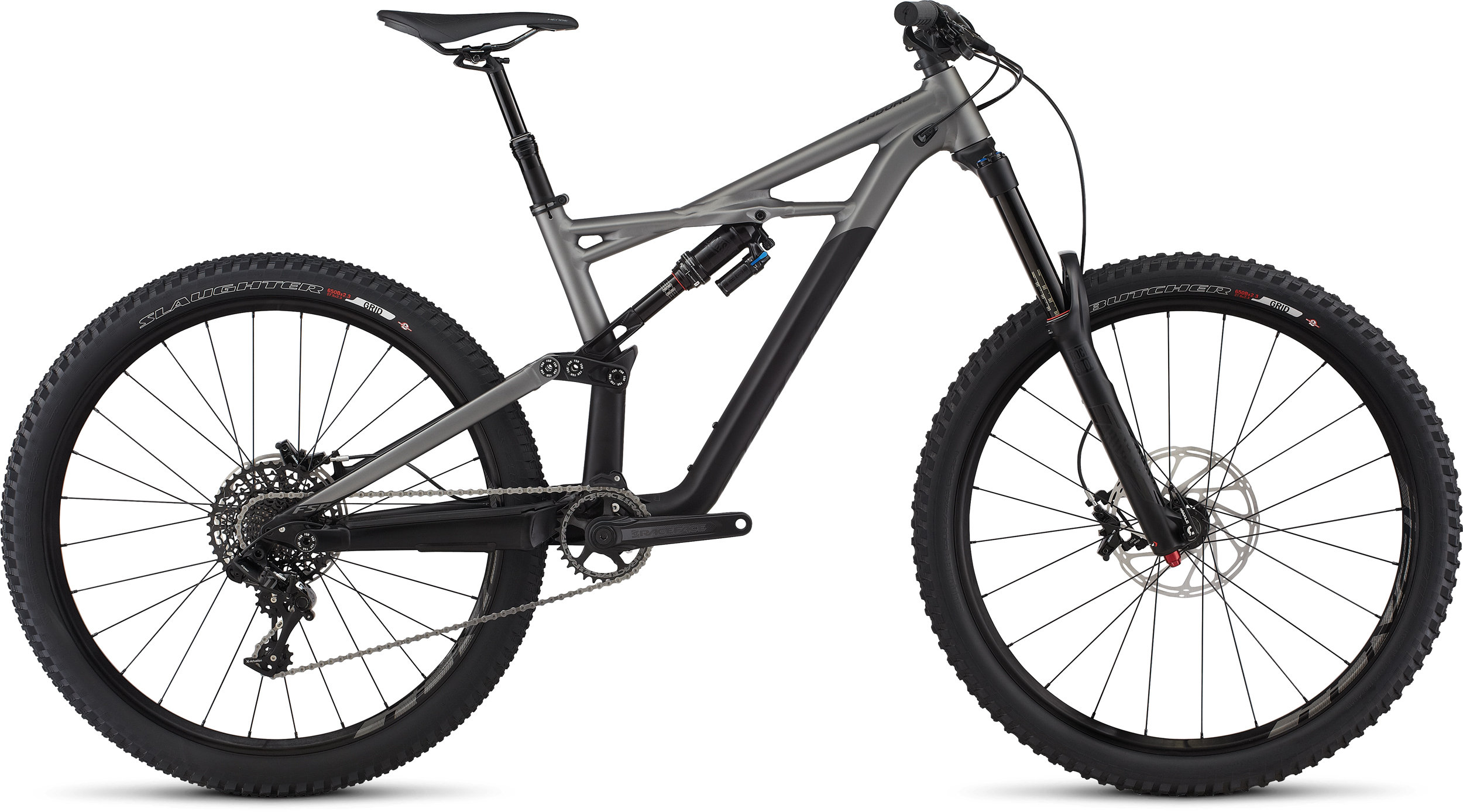 SPECIALIZED ENDURO FSR COMP 650B BLK/CHAR XL - Pulsschlag Bike+Sport
