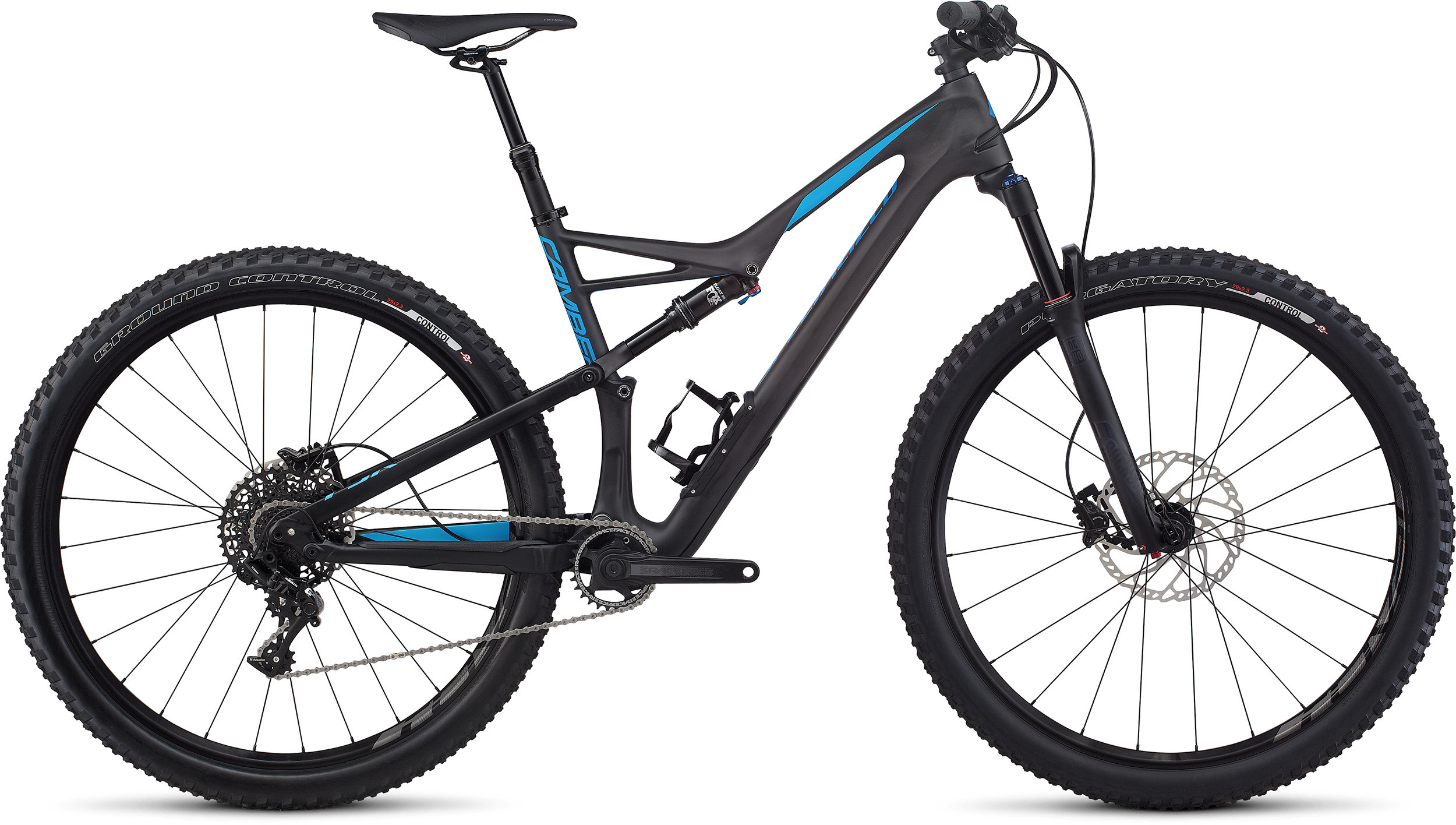 SPECIALIZED CAMBER FSR COMP CARBON 29 CARB/NENBLU XL - Pulsschlag Bike+Sport