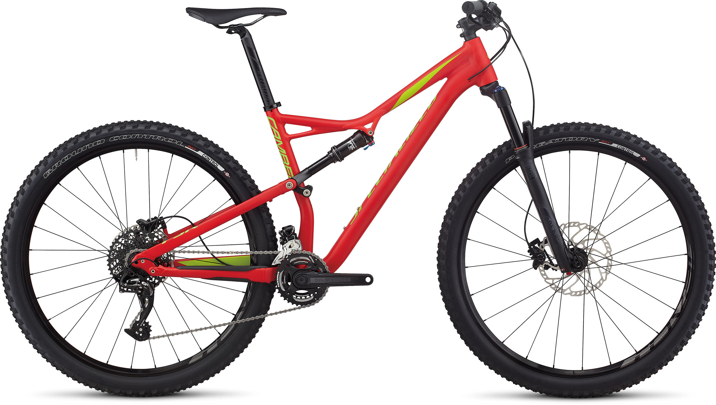 SPECIALIZED CAMBER FSR COMP 29 FLORED/HYP/MONGRN S - Bike Maniac
