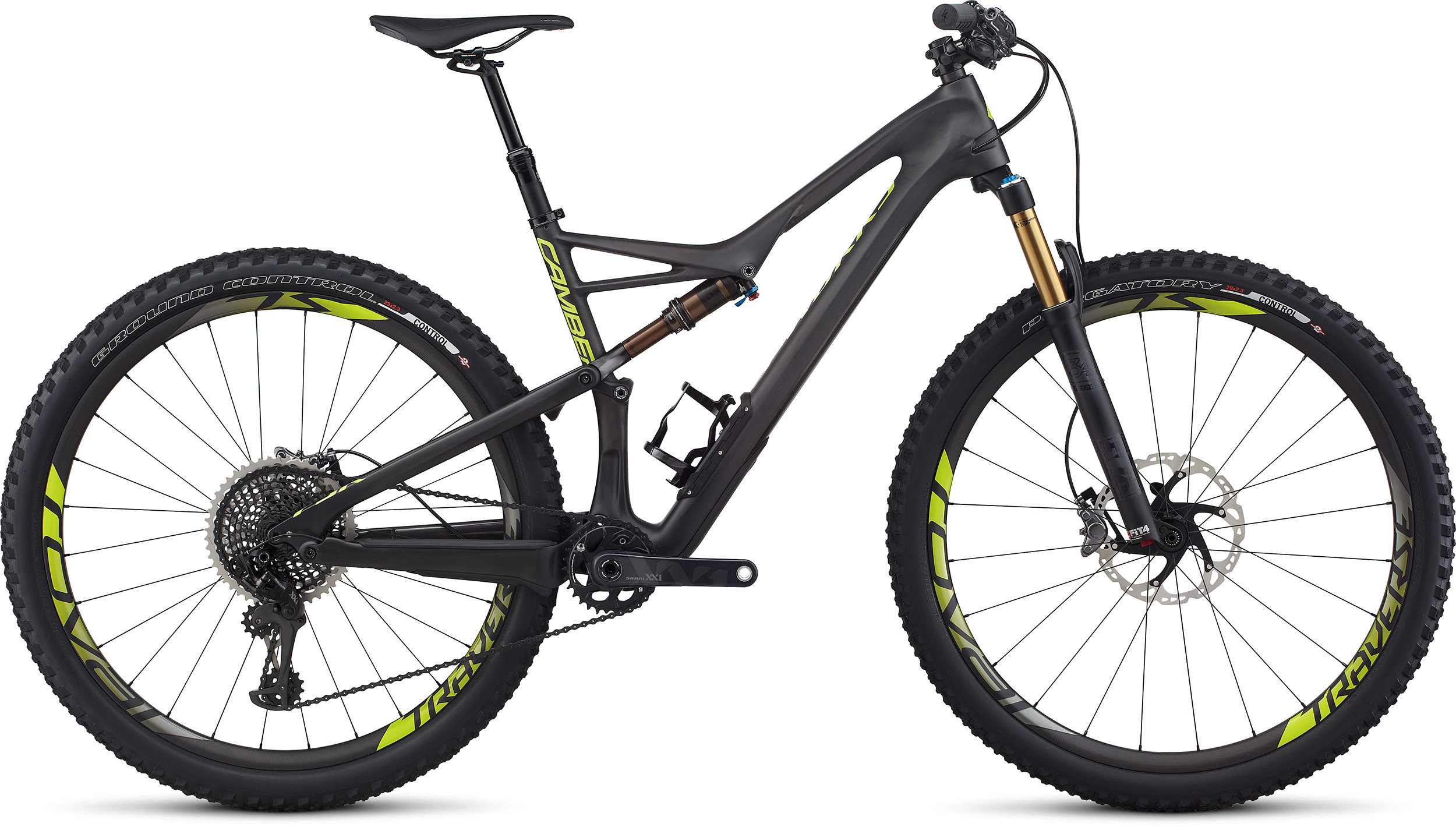 SPECIALIZED SW CAMBER FSR CARBON 29 CARB/BLK/HYP L - Bike Zone