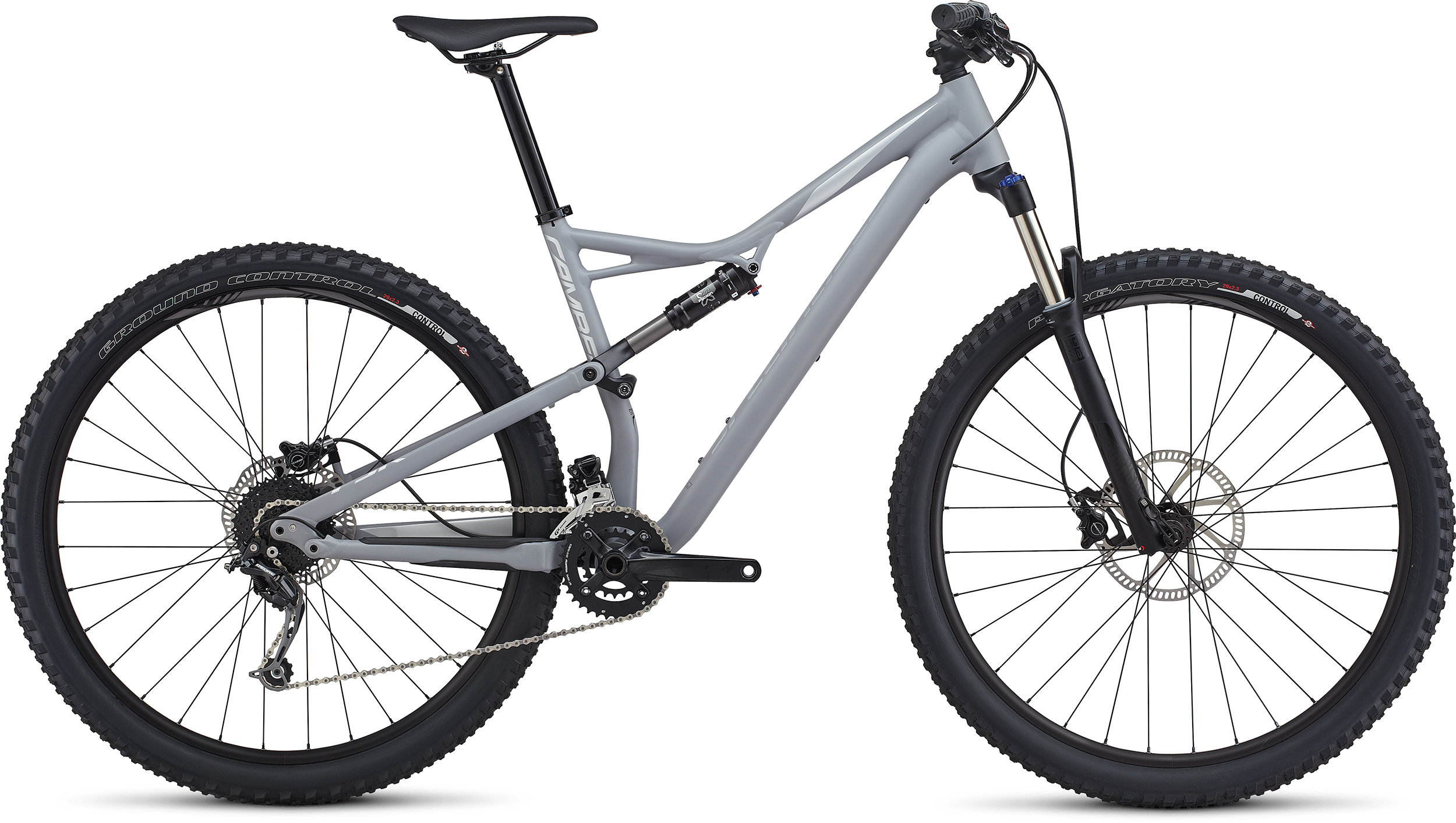 SPECIALIZED CAMBER FSR 29 CLGRY/FLKSIL L - Bike Zone