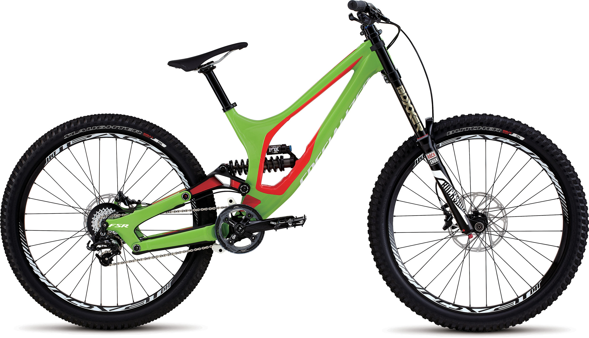 SPECIALIZED DEMO 8 FSR I 650B MONGRN/RKTRED/WHT MD - SPECIALIZED DEMO 8 FSR I 650B MONGRN/RKTRED/WHT MD