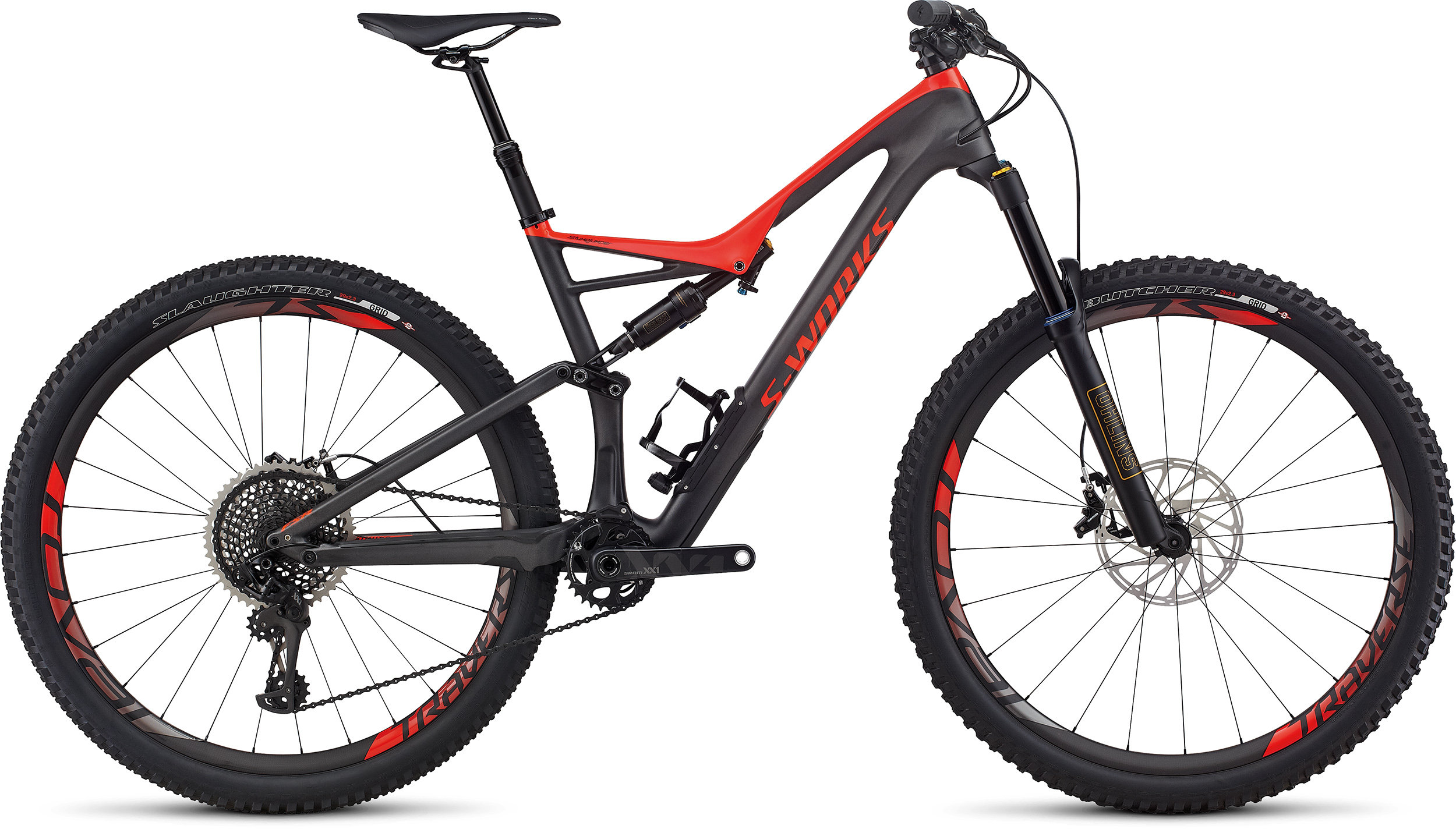 SPECIALIZED SW SJ FSR CARBON 29 SILTNT/RKTRED L - Bike Zone