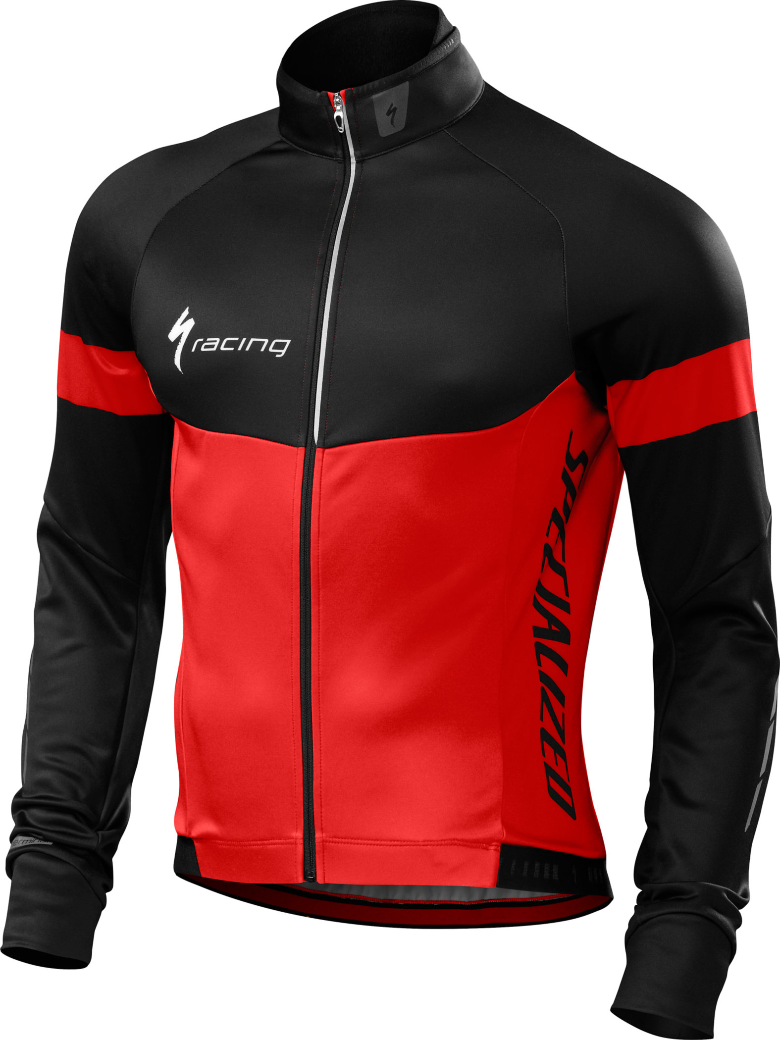 Specialized Therminal Long Sleeve Jersey Red/Black Team Small - Alpha Bikes