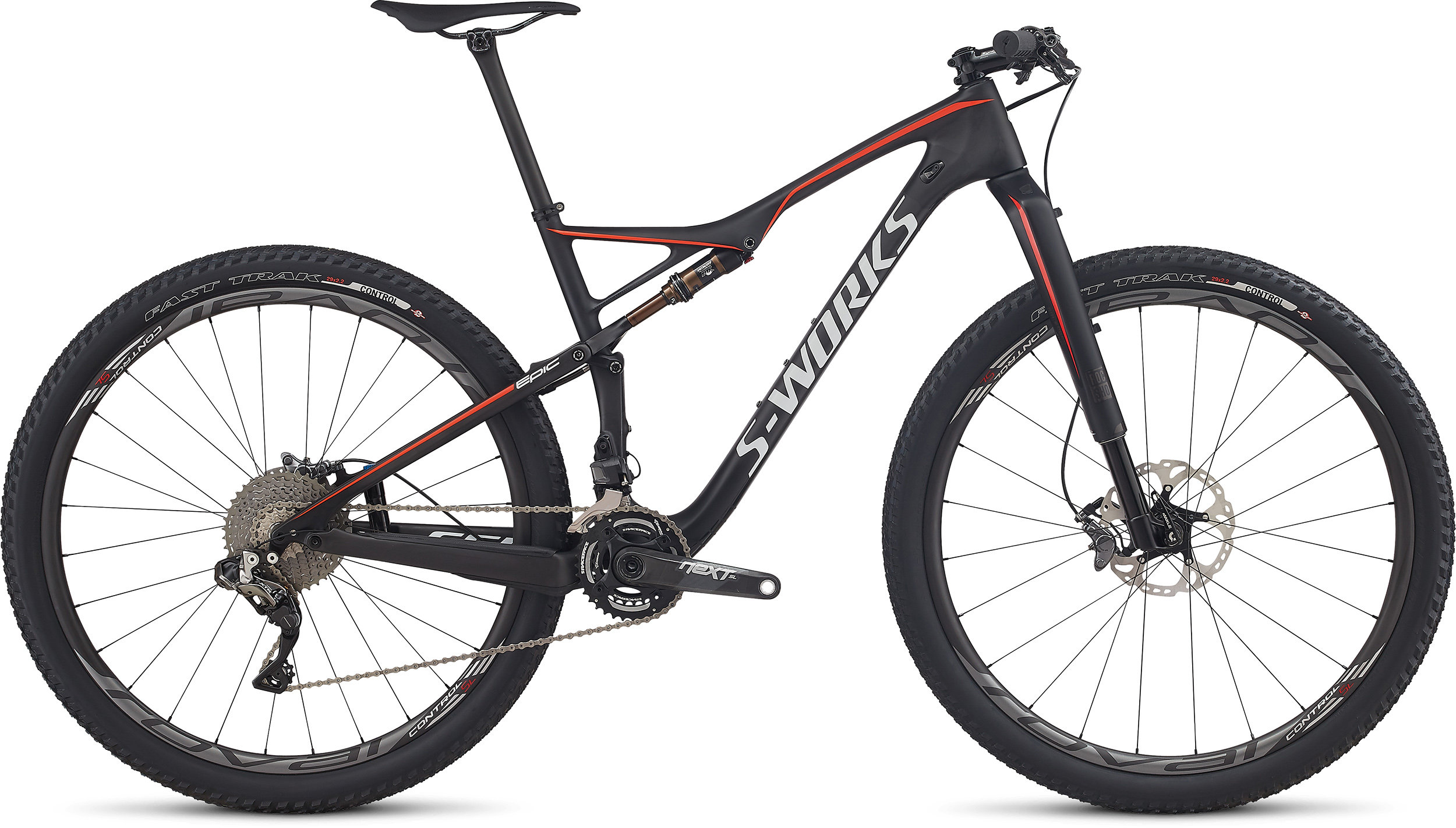 SPECIALIZED SW EPIC FSR CARBON DI2 29 CARB/RKTRED/WHT S - Bike Maniac