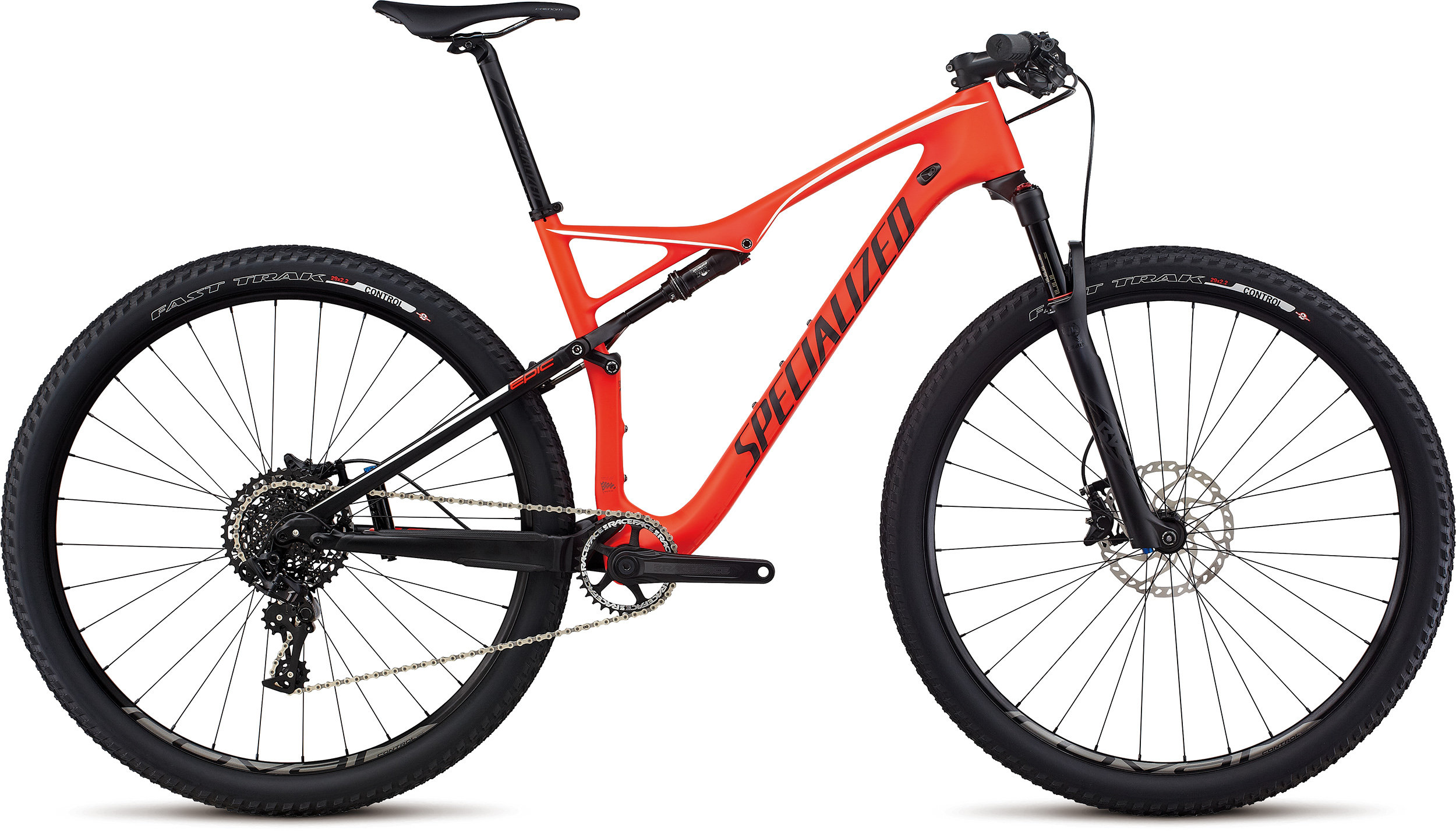 SPECIALIZED EPIC FSR EXPERT CARBON WC 29 RKTRED/BLK/WHT S - Bike Maniac
