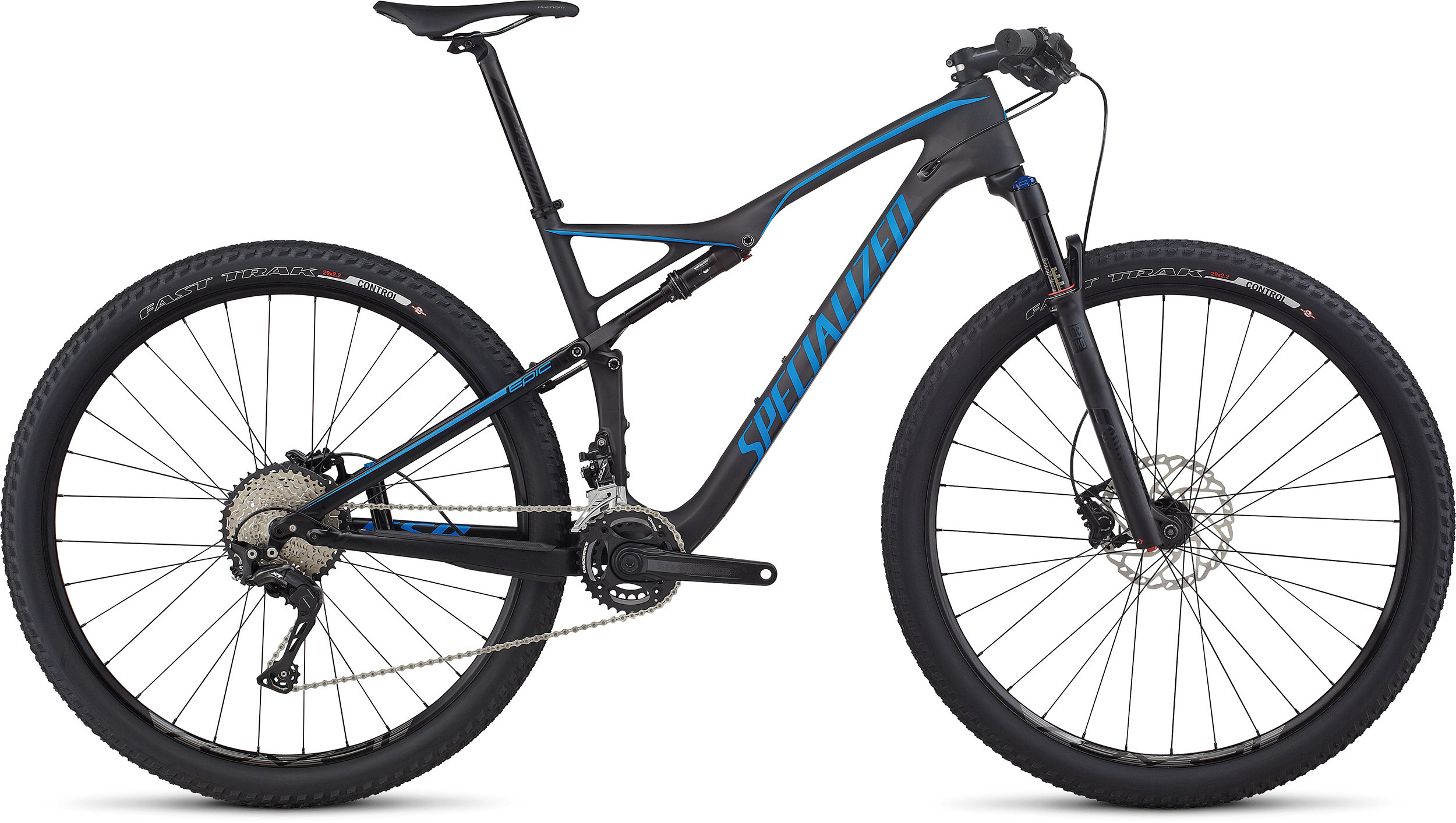 SPECIALIZED EPIC FSR COMP CARBON 29 CARB/NENBLU S - SPECIALIZED EPIC FSR COMP CARBON 29 CARB/NENBLU S