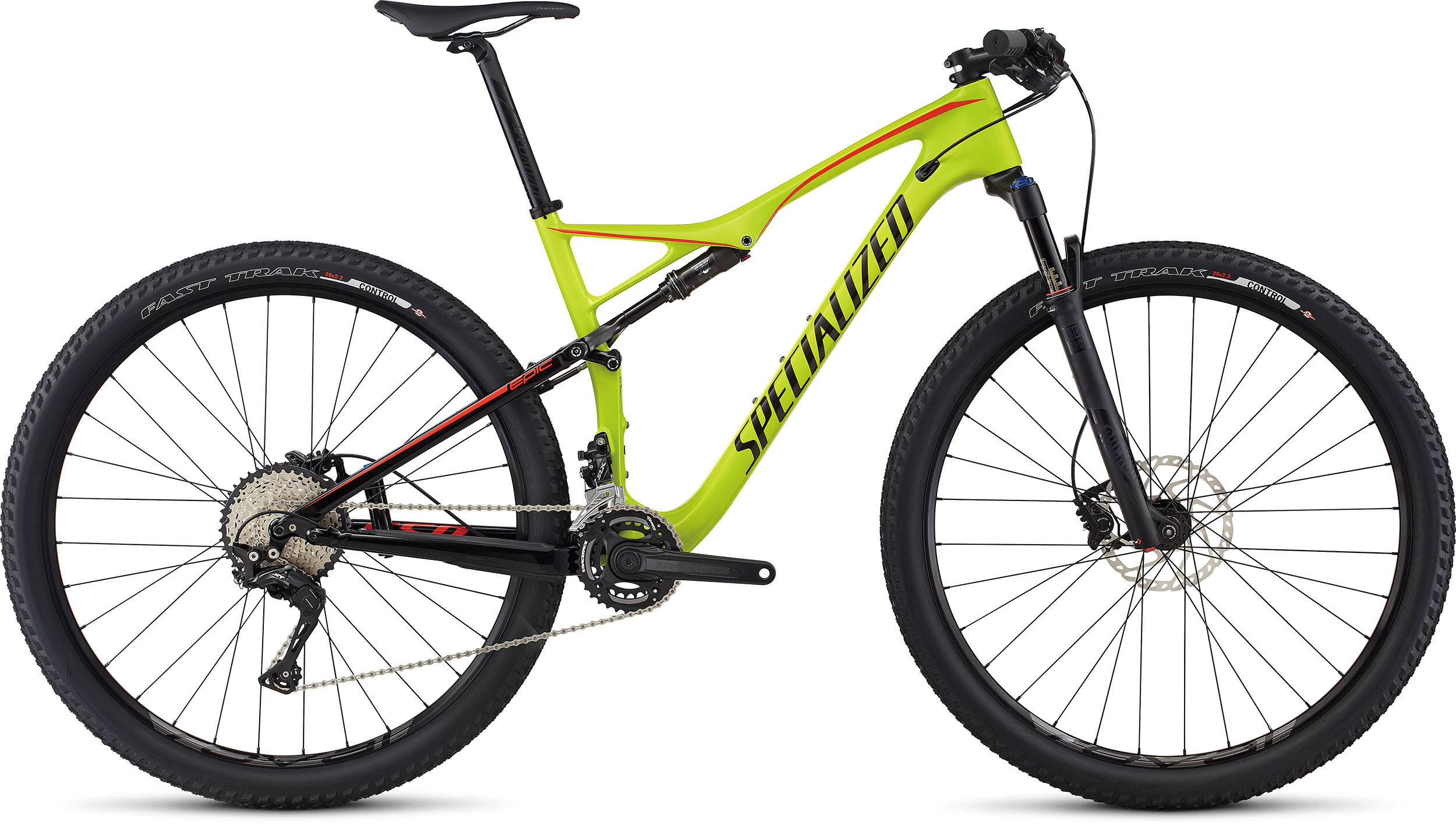 SPECIALIZED EPIC FSR COMP CARBON 29 HYP/BLK/NRDCRED S - Bike Maniac