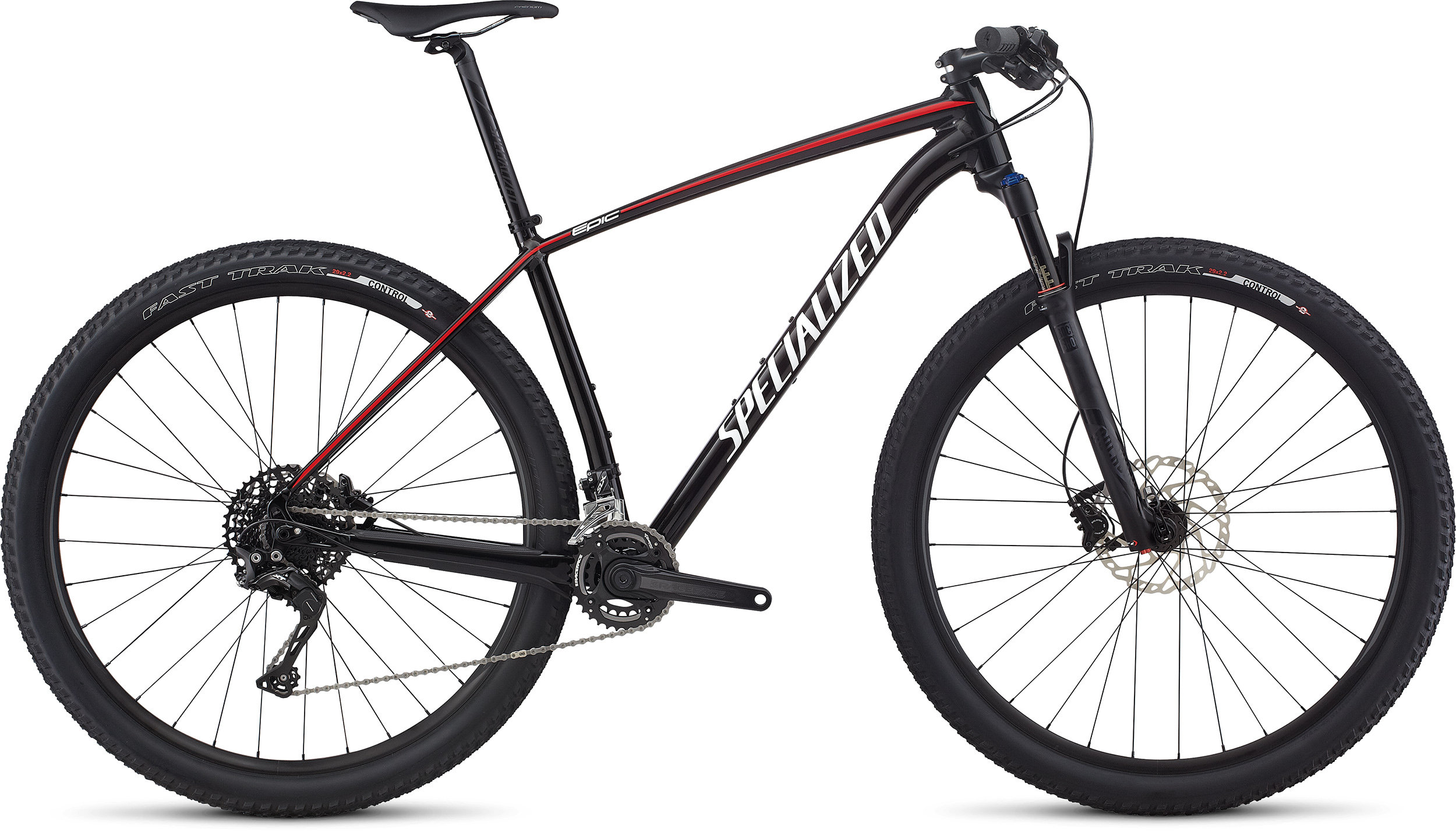 SPECIALIZED EPIC HT BASE 29 BLK/WHT/FLORED L - Alpha Bikes