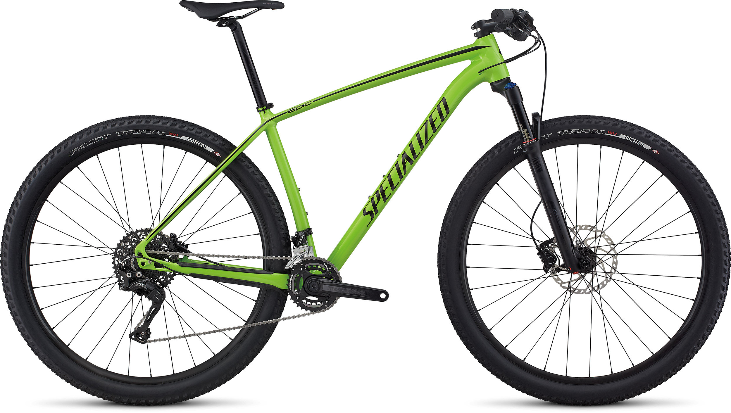 SPECIALIZED EPIC HT BASE 29 MONGRN/BLK L - Alpha Bikes