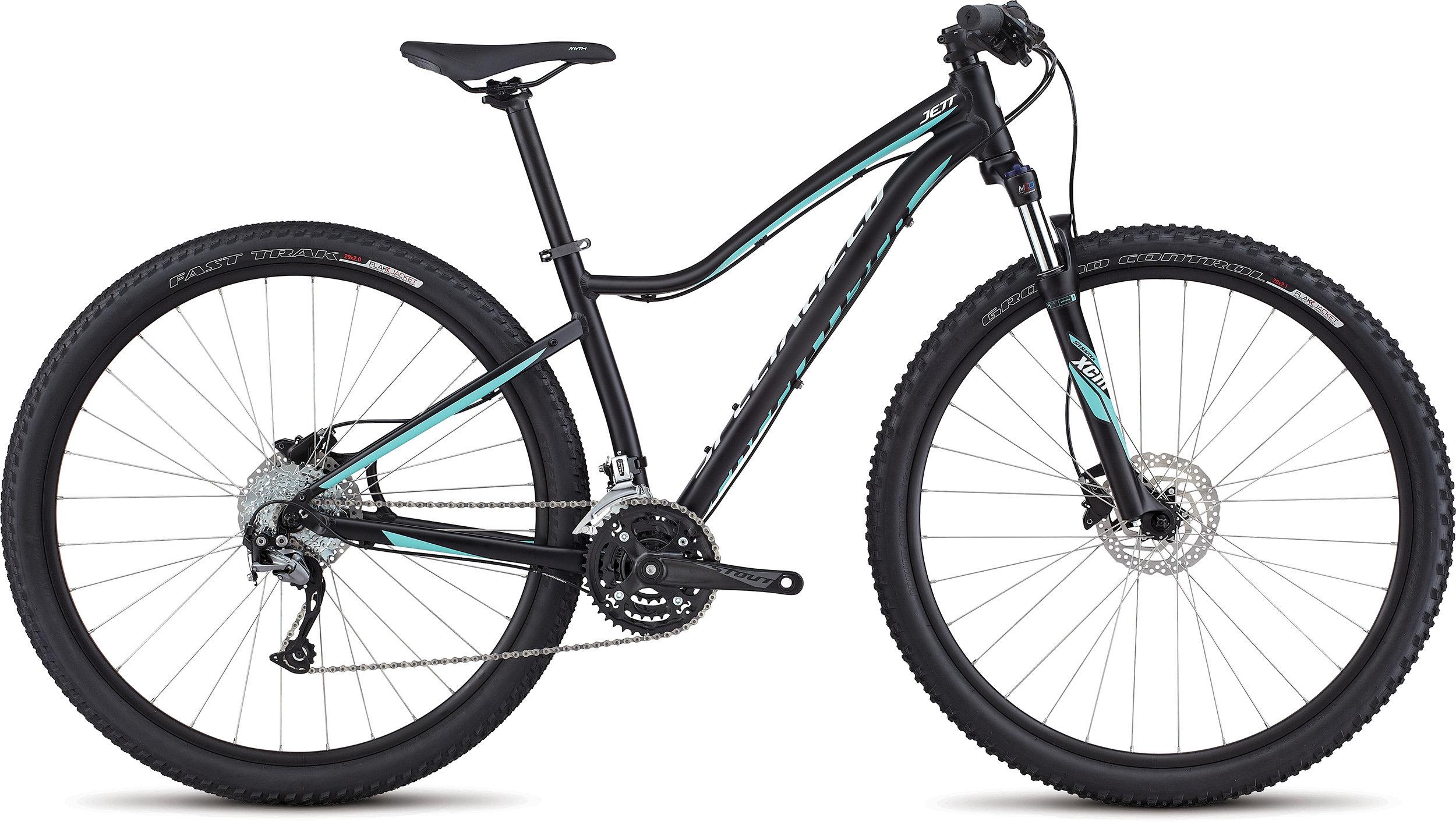 SPECIALIZED JETT SPORT 29 TARBLK/LTTUR/METWHTSIL S - Bike Maniac