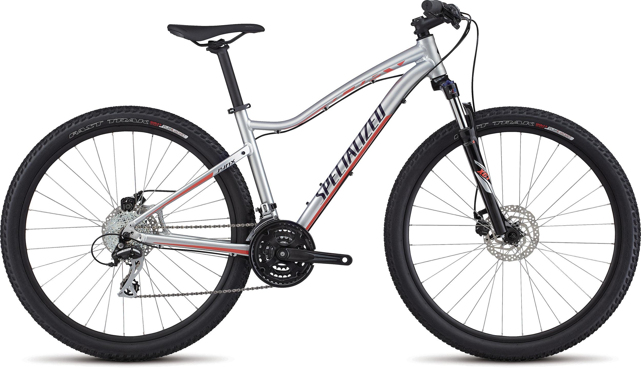 SPECIALIZED JYNX 650B FLKSIL/DPNDGO/CRL XS - Bike Maniac
