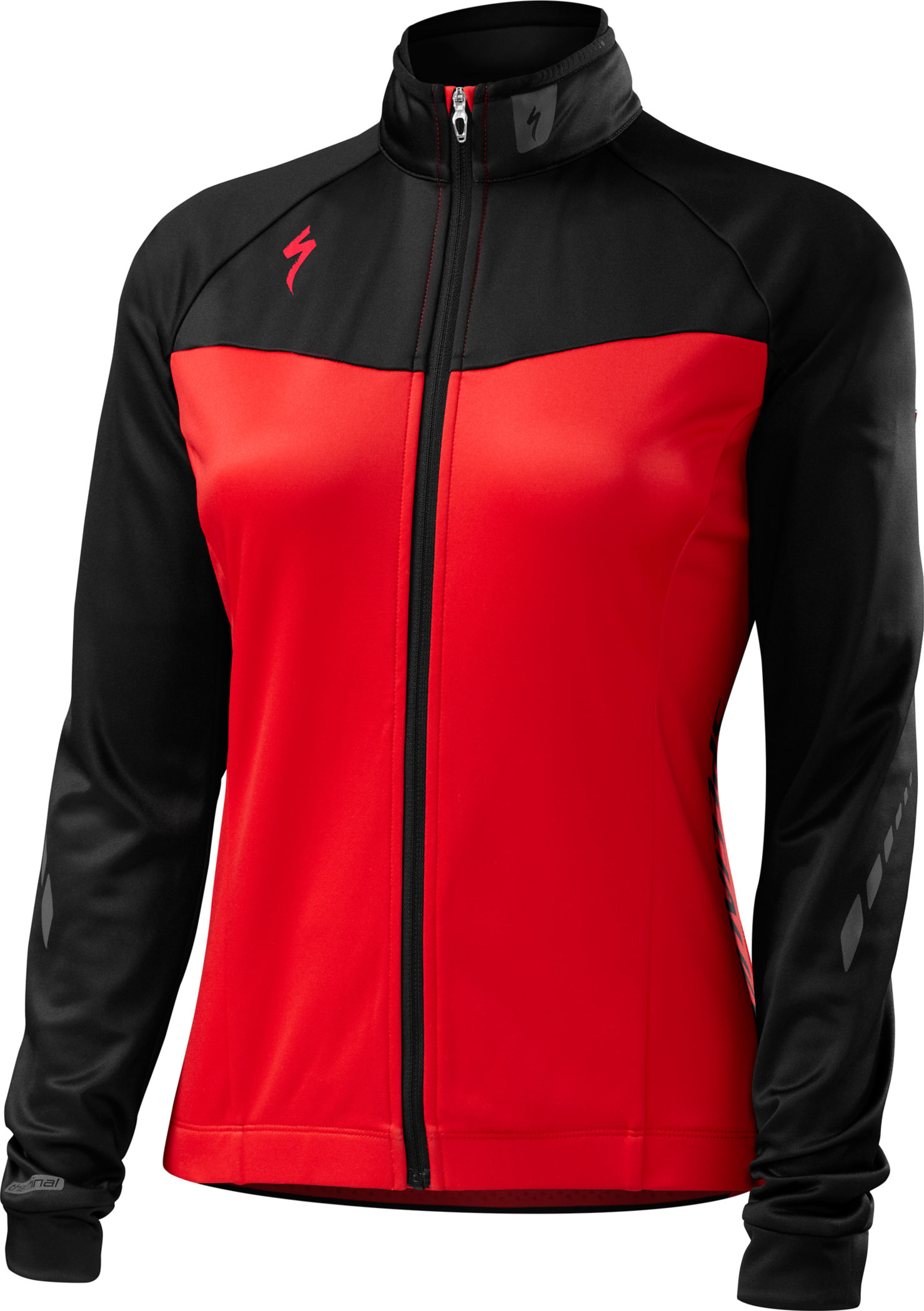 Specialized Women´s Therminal Long Sleeve Jersey Red/Black Team Large - Alpha Bikes