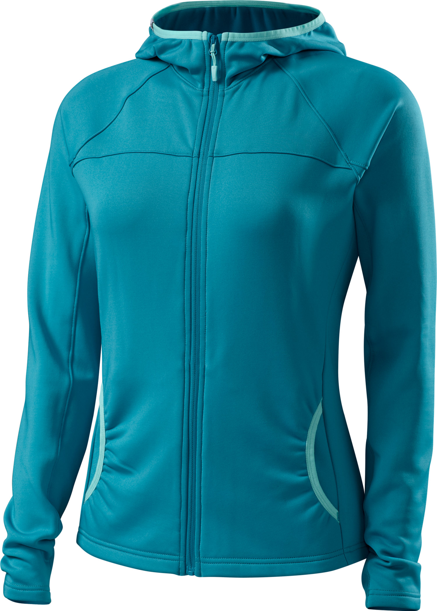 Specialized Women´s Therminal Mountain Jersey Turquoise/Light Teal  Large - Alpha Bikes