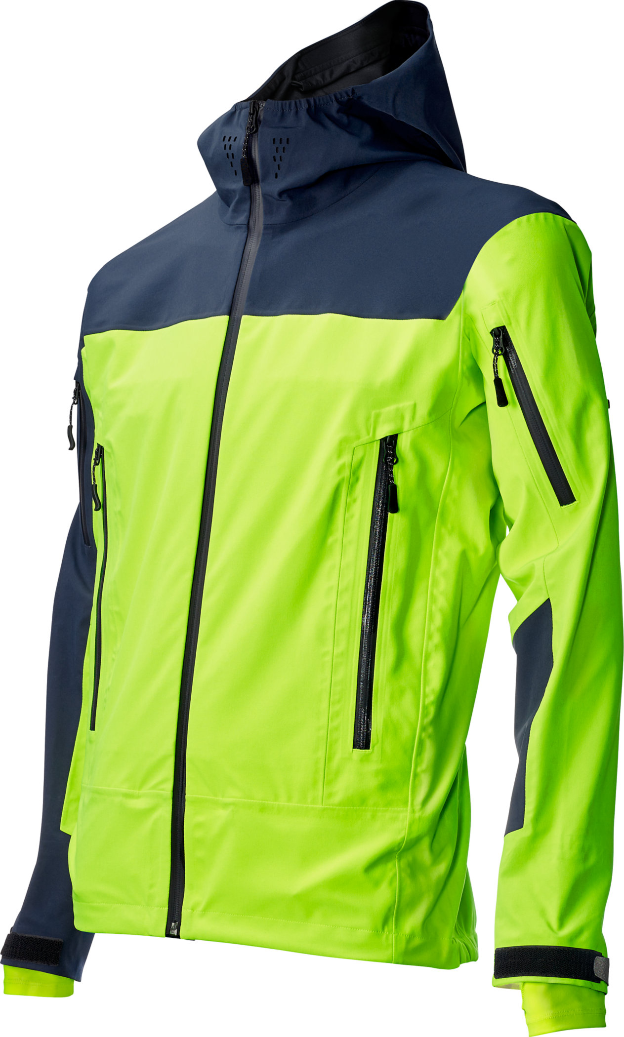 SPECIALIZED 686 X 3L TECH JACKET NEON YEL/NVY M - Alpha Bikes