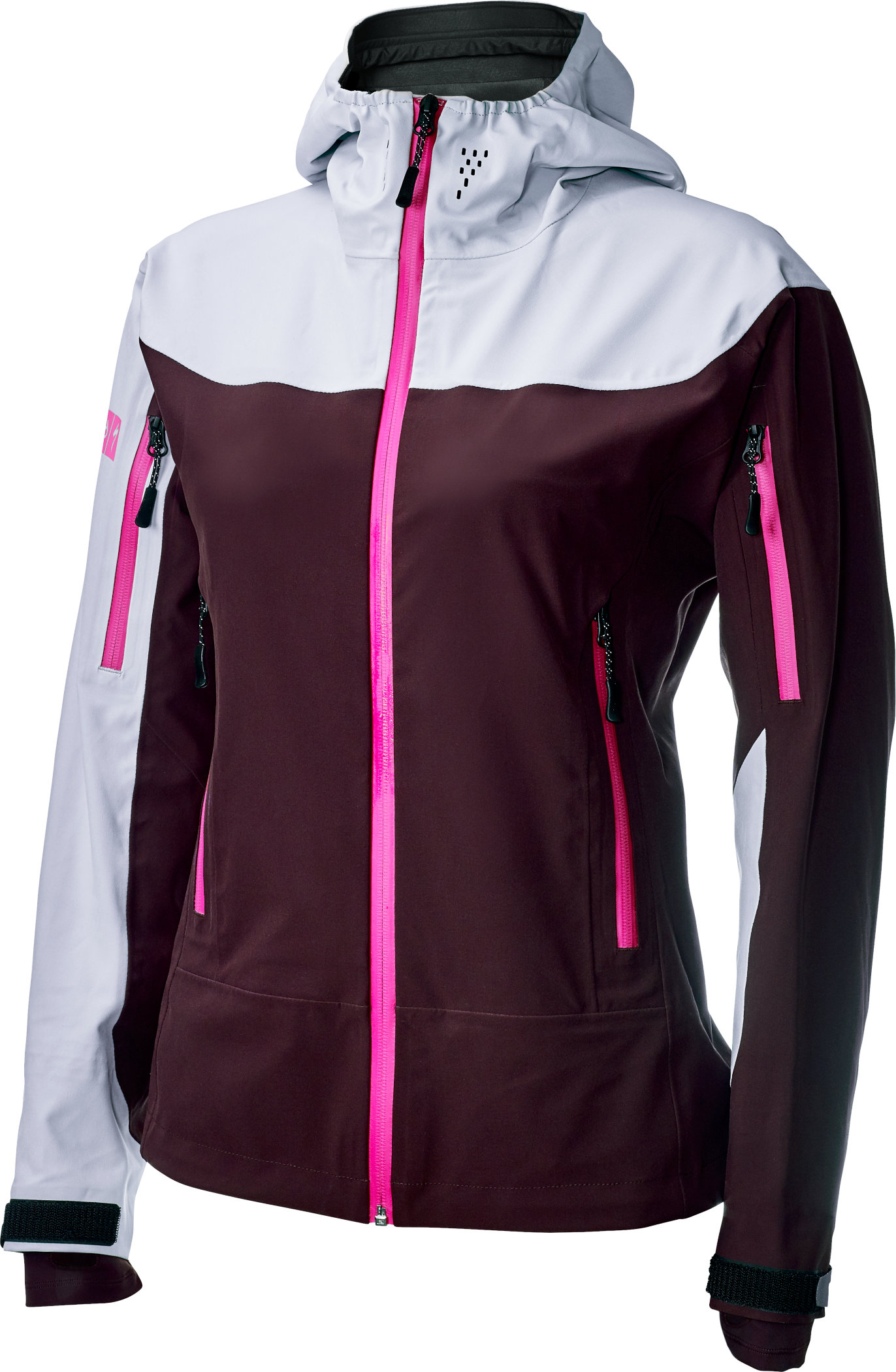 Specialized Women´s 686 x Specialized Tech Jacket Black Ruby M - Alpha Bikes