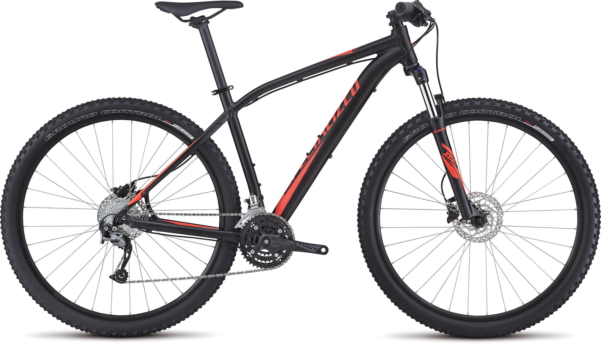 SPECIALIZED RH SPORT 29 BLK/RKTRED L - Bike Zone