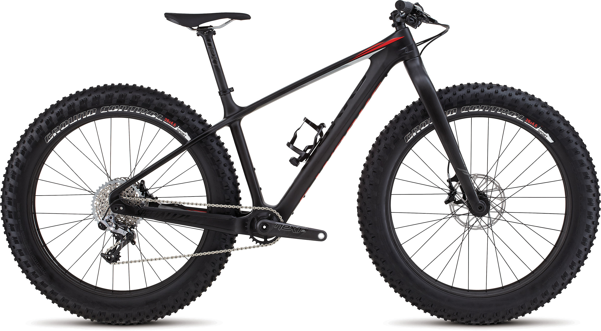 SPECIALIZED SW FATBOY CARBON CARB/BLK/RKTRED S - Bike Maniac