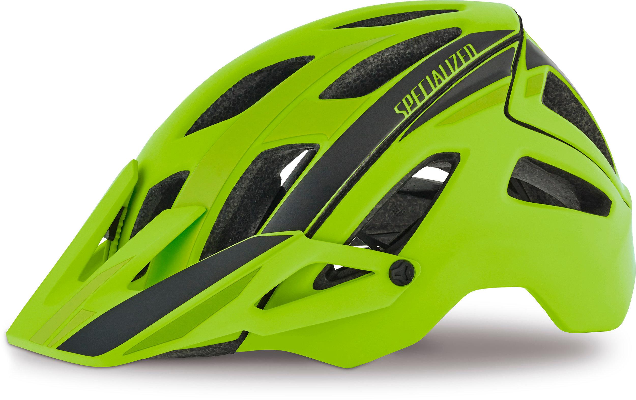 SPECIALIZED AMBUSH HLMT CE HYP GRN/CHAR SPEED L - Pulsschlag Bike+Sport