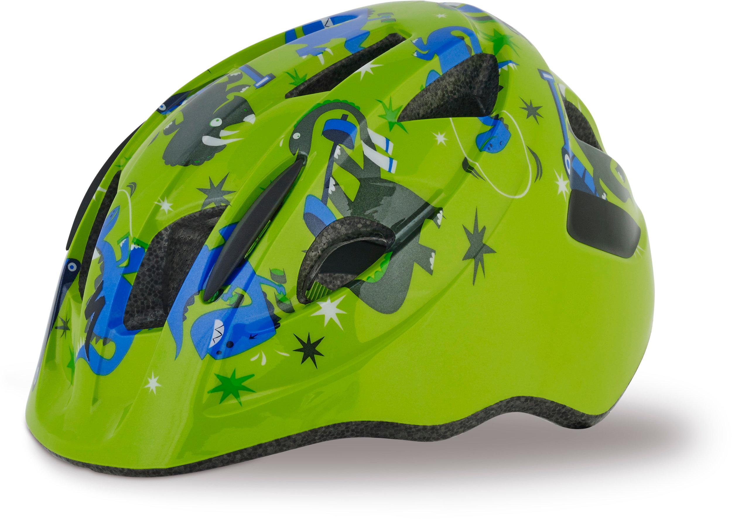 SPECIALIZED MIO HLMT CE GRN/BLU DINOS TDLR - Alpha Bikes