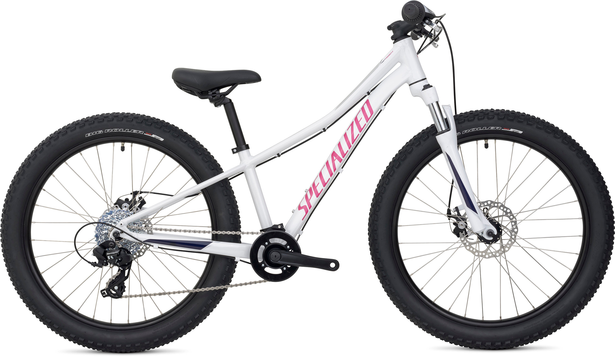 Specialized Riprock 24 Metallic White/Pearl Indigo/Pearl Pink 11 - Bike Zone