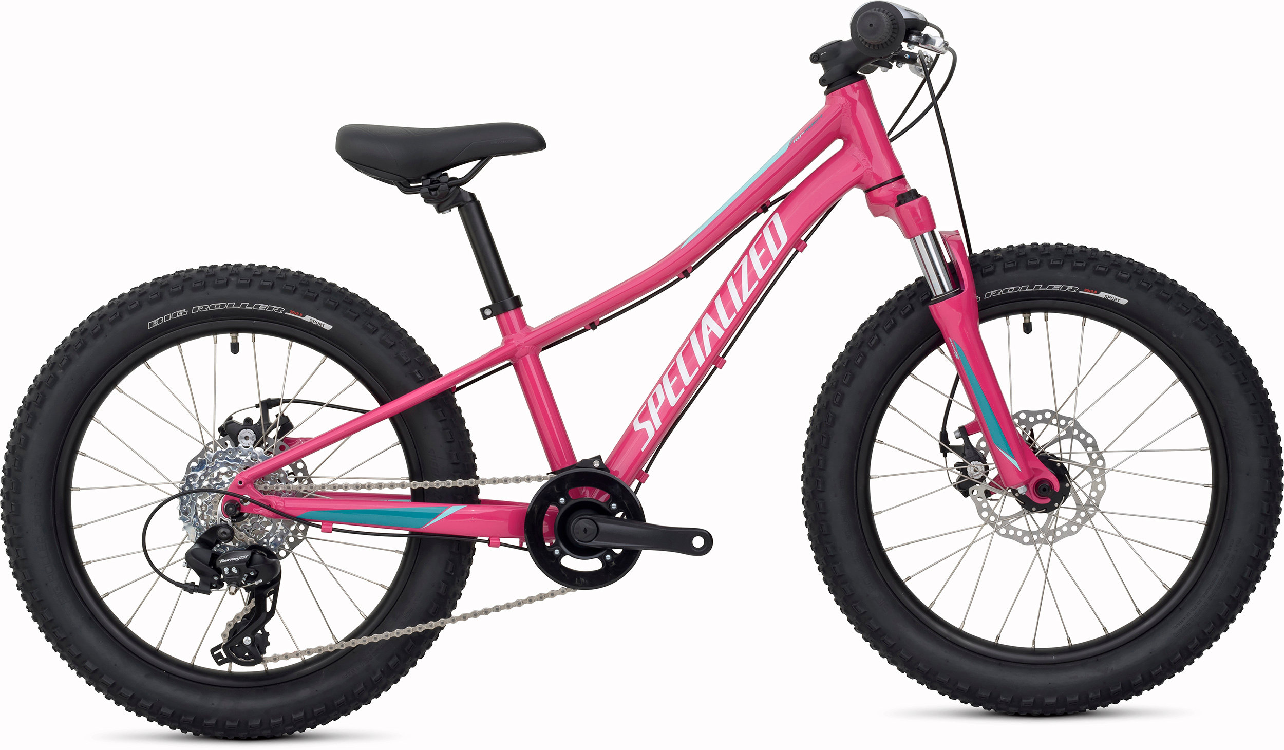 Specialized Riprock 20 Gloss Rainbow Flake Pink/Pearl Turquoise/Pearl Light Turquoise 9 - Bike Maniac