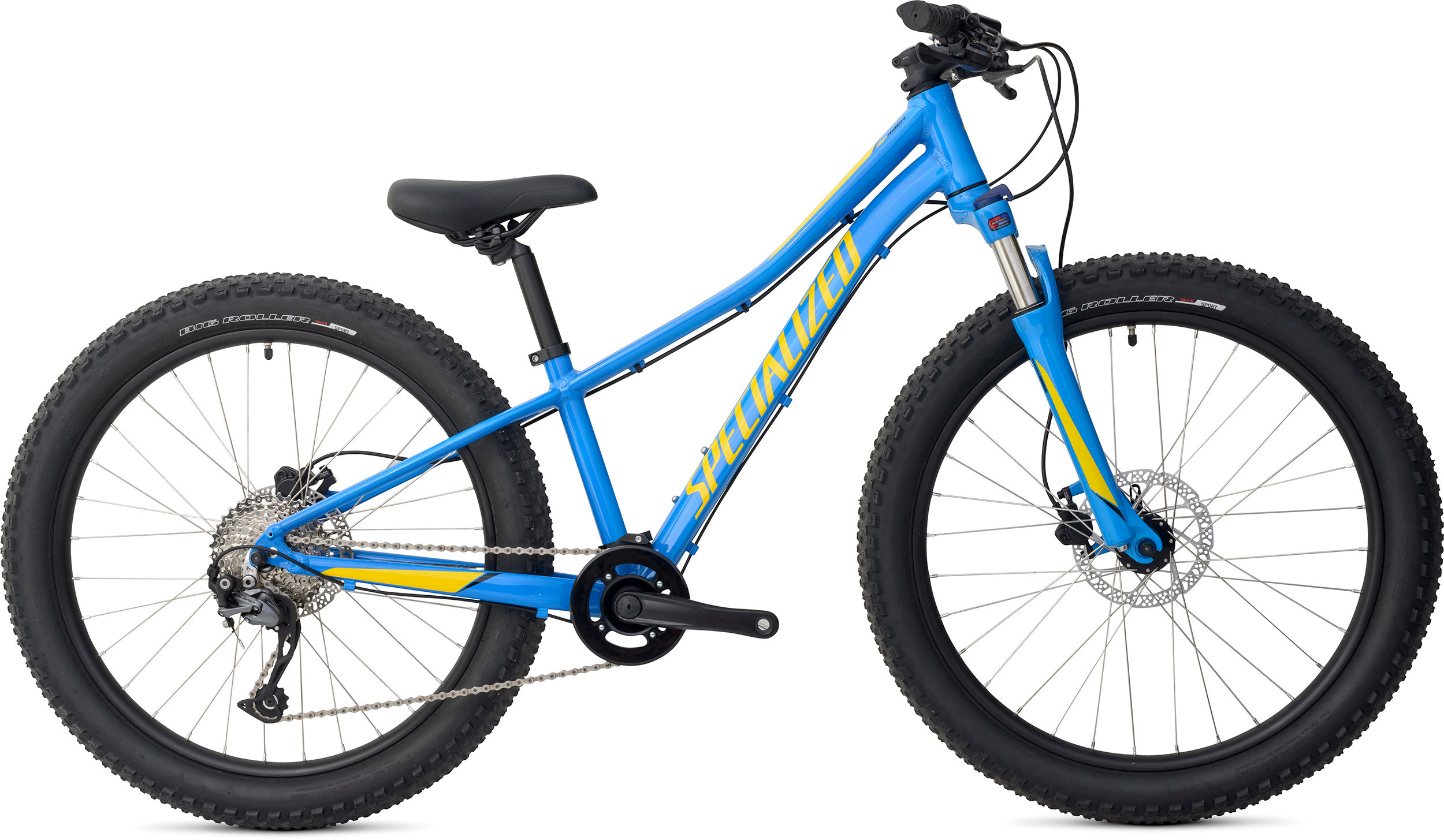 SPECIALIZED RIPROCK COMP 24 INT NEON BLU/HYP/BLK 11 - Bike Zone